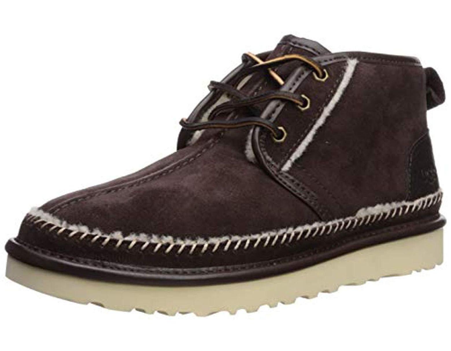 4a6cde0ab8b Men's Brown Neumel Stitch Chukka Boot