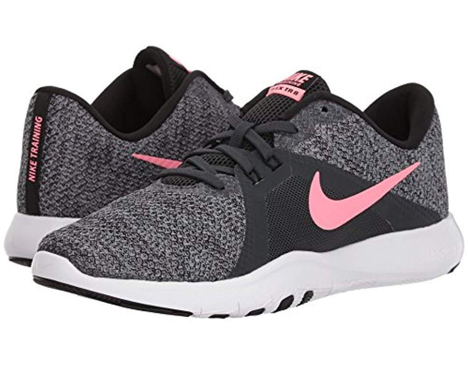 wholesale dealer 23557 1dc40 Nike. Women s Black Flex Trainer 8 Cross