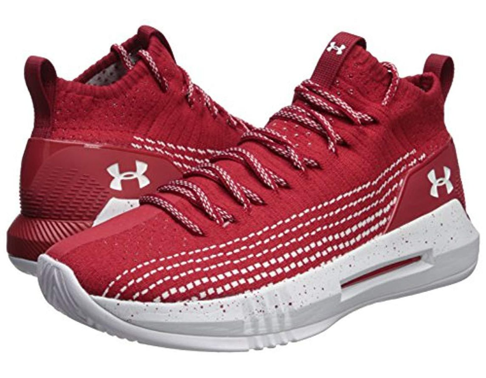 ae9ec42c597 Under Armour Heat Seeker Basketball Shoe in Red for Men - Save 40% - Lyst