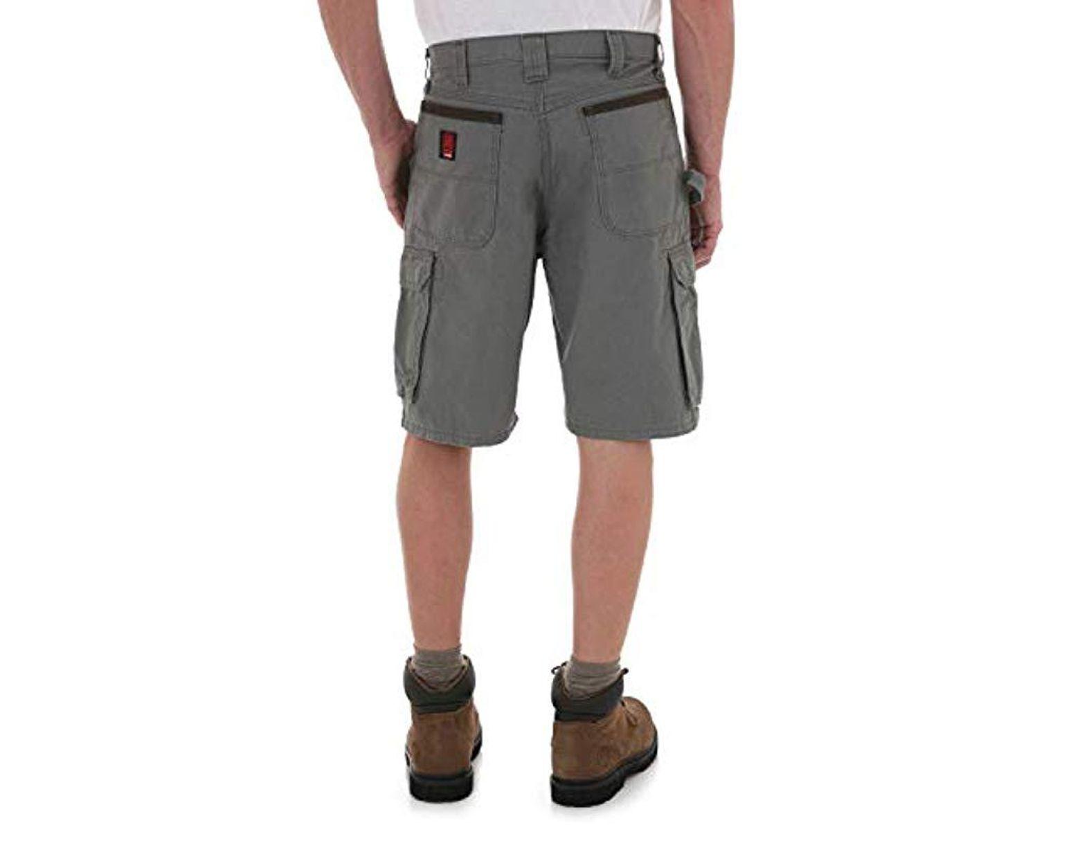 9ca83d49 Wrangler RIGGS Workwear Ranger Cargo Short in Gray for Men - Save 14% - Lyst