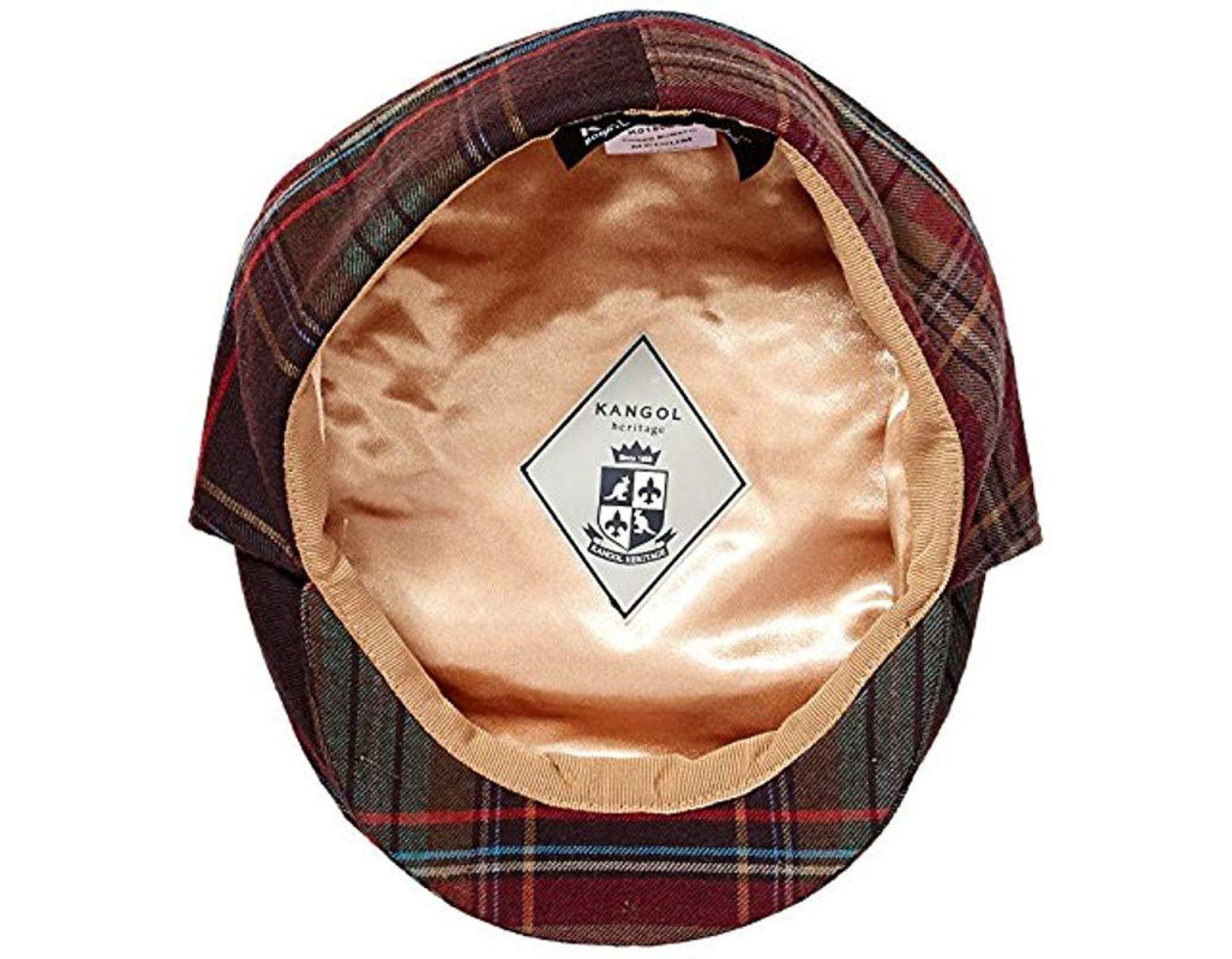 ed26c279c47093 Kangol Tweed Bugatti Cap for Men - Save 21% - Lyst