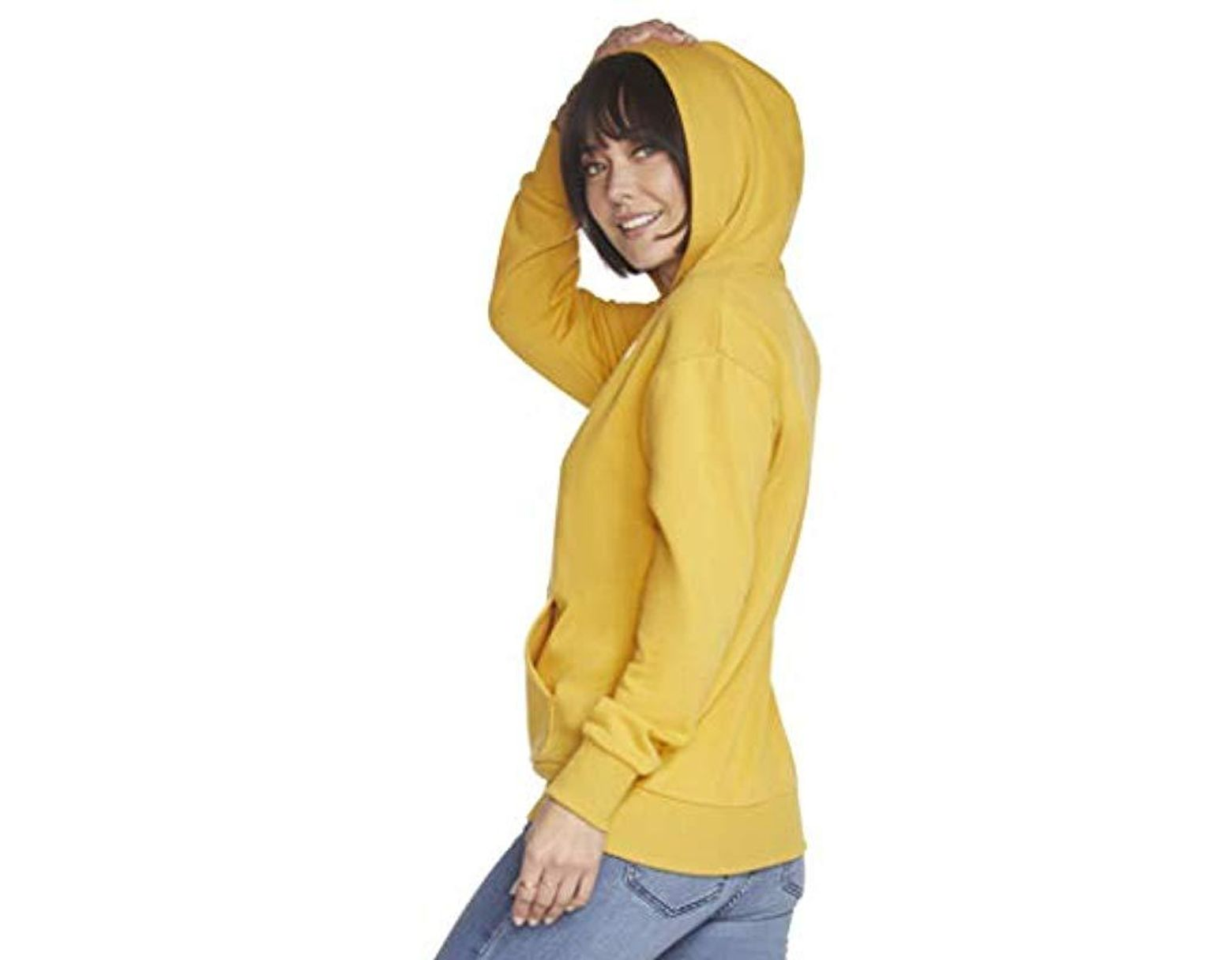 Involand Womens Plus Size Long Sleeve Casual Loose T-Shirts Blouse Tunic Tops with Thumb Hole Hoodie Pullover Sweatshirt