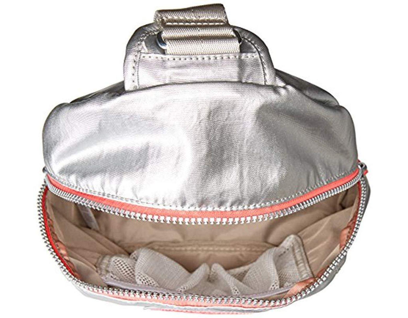 e02851e634 Kipling Bente Platinum Metallic Sport Sling Backpack - Save 6% - Lyst