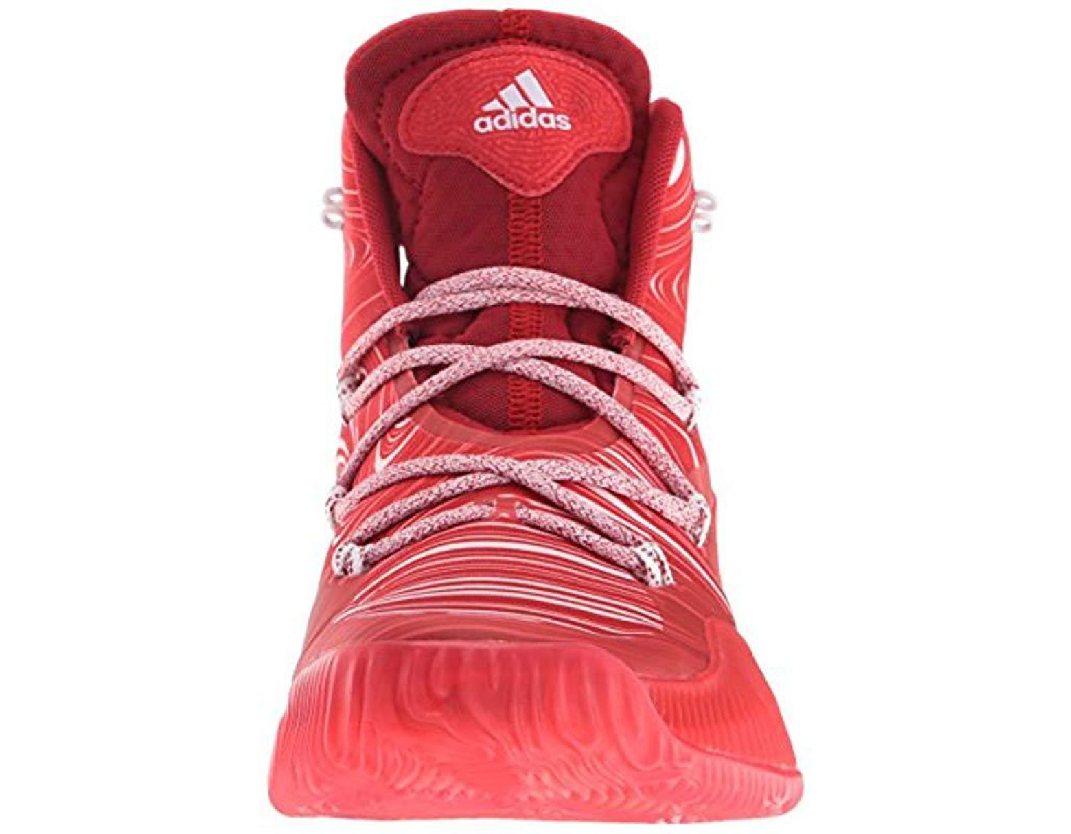 huge discount 2f513 c43ac Lyst - adidas Performance Crazy Explosive Basketball Shoe in Red for Men -  Save 8%