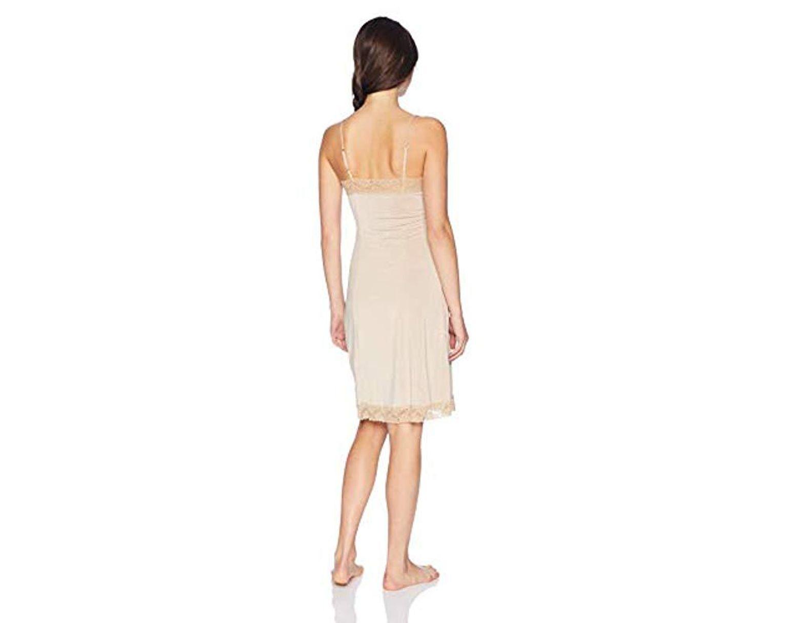 Jones New York Womens Silky Touch 38 Sleeveless Anti-Cling Full Slip Full Slip