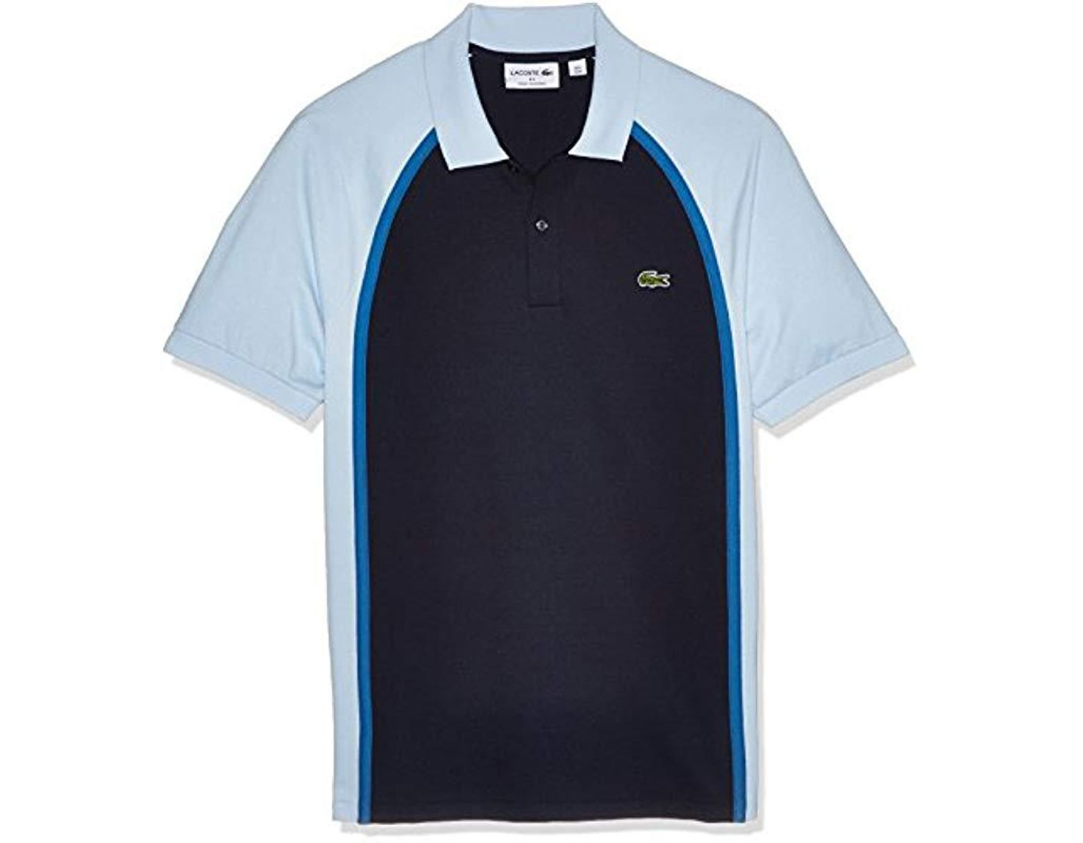 7400da8202 Lacoste Short Sleeve Made In France Pique Reg Fit Polo, Ph3210 in Blue for  Men - Save 23% - Lyst