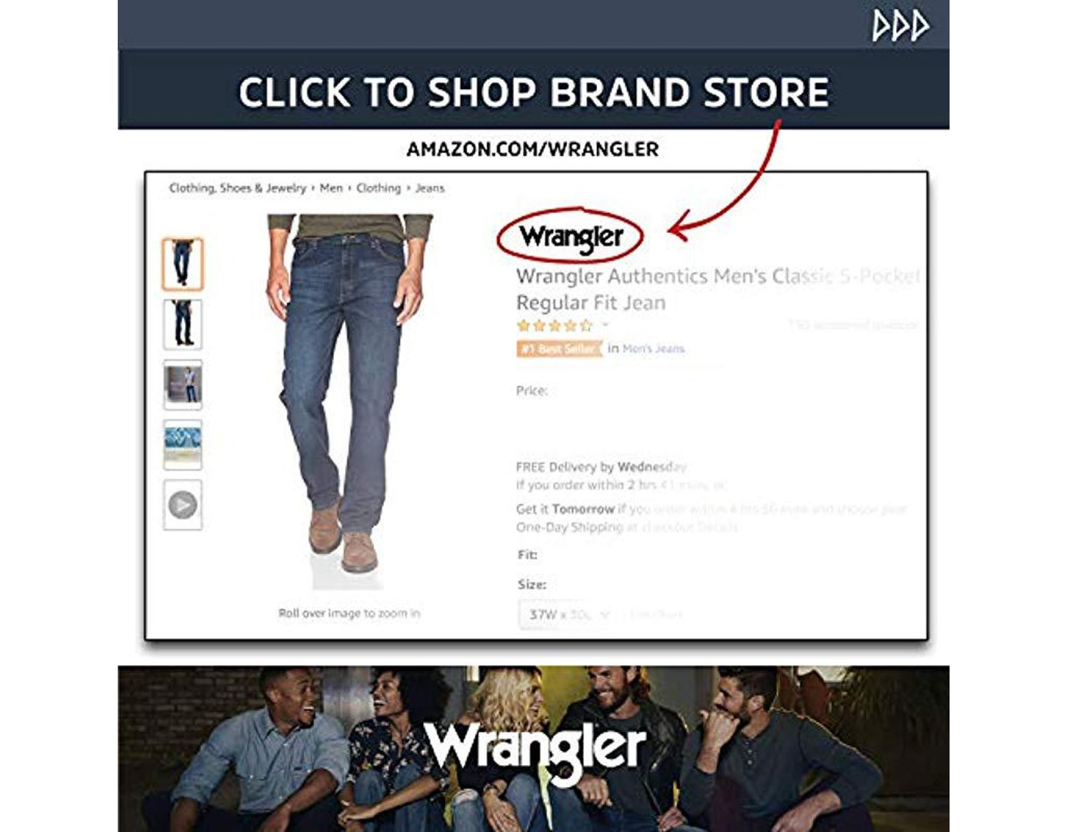 15894d4395 Wrangler Authentics Big & Tall Classic Twill Relaxed Fit Cargo Pant in Blue  for Men - Save 31% - Lyst