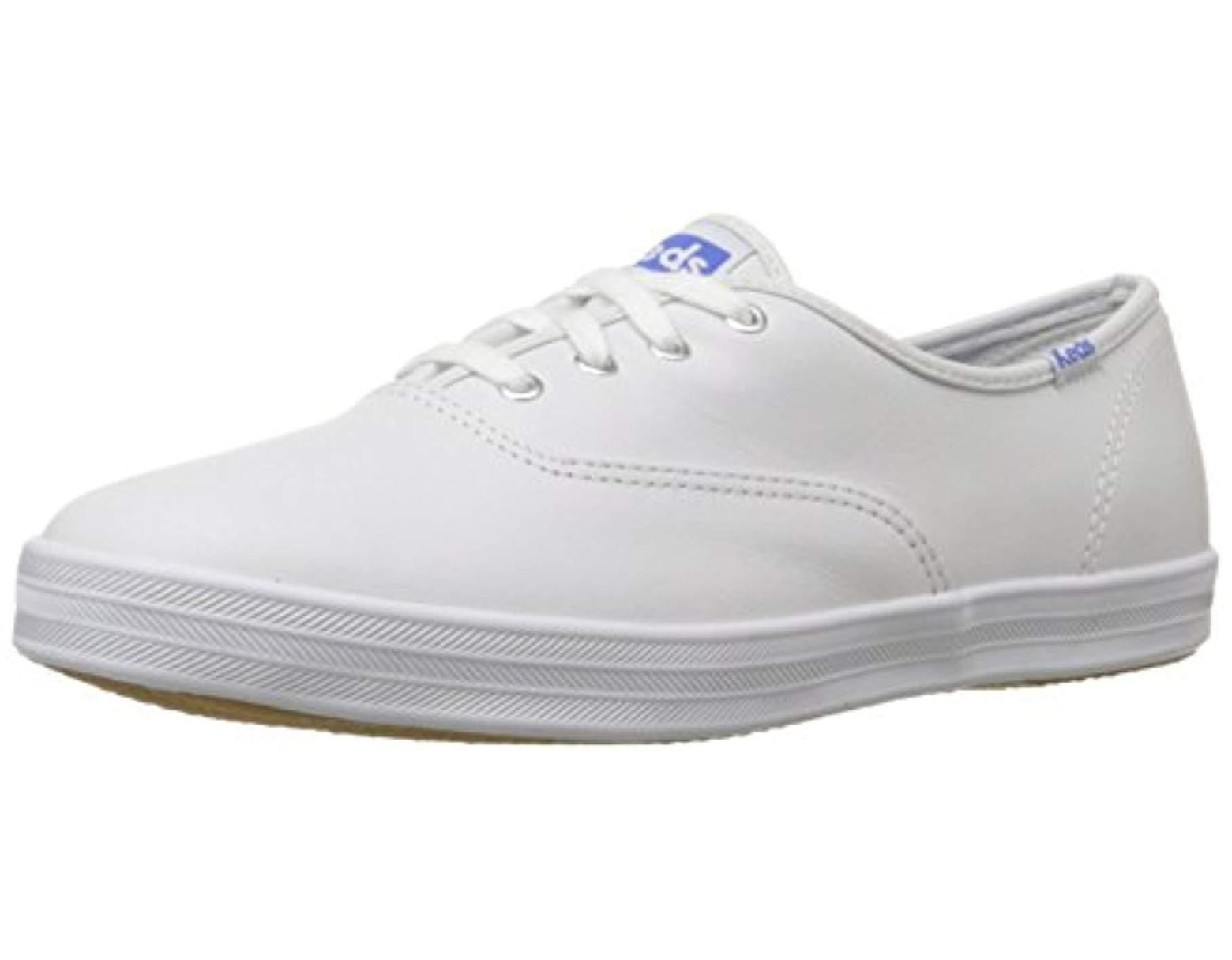 aa5afba363b20 Women's Champion Original Leather Lace-up Sneaker, White Leather, 13 S Us