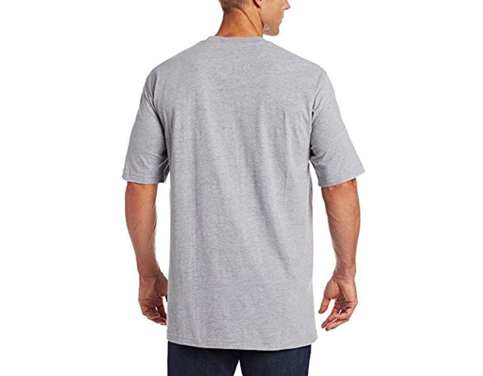 a3404306a67b Wrangler RIGGS Workwear Big & Tall Pocket T-shirt in Gray for Men - Save  17% - Lyst
