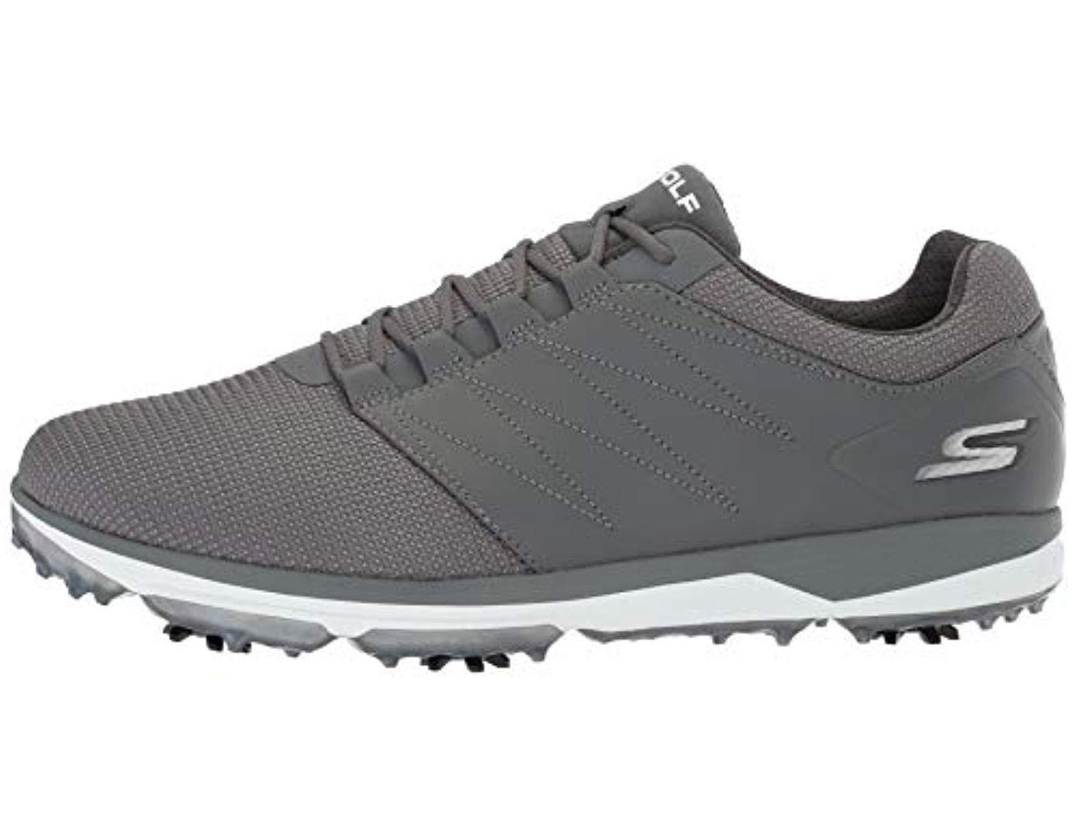 9ddc91e43d Skechers Pro 4 Waterproof Golf Shoe in Gray for Men - Save 10% - Lyst