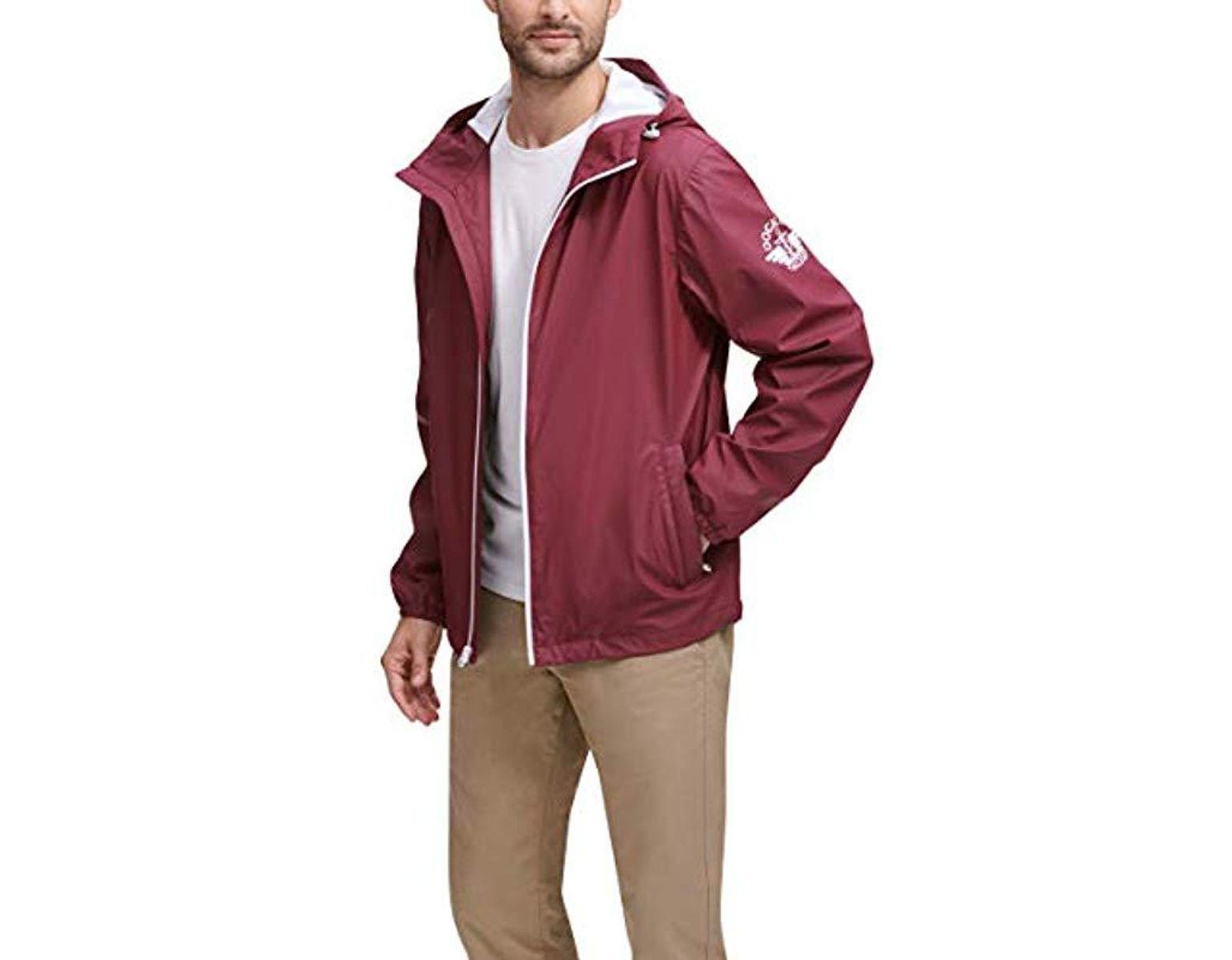 Dockers Mens The Shawn Waterproof Rain Slicker Jacket