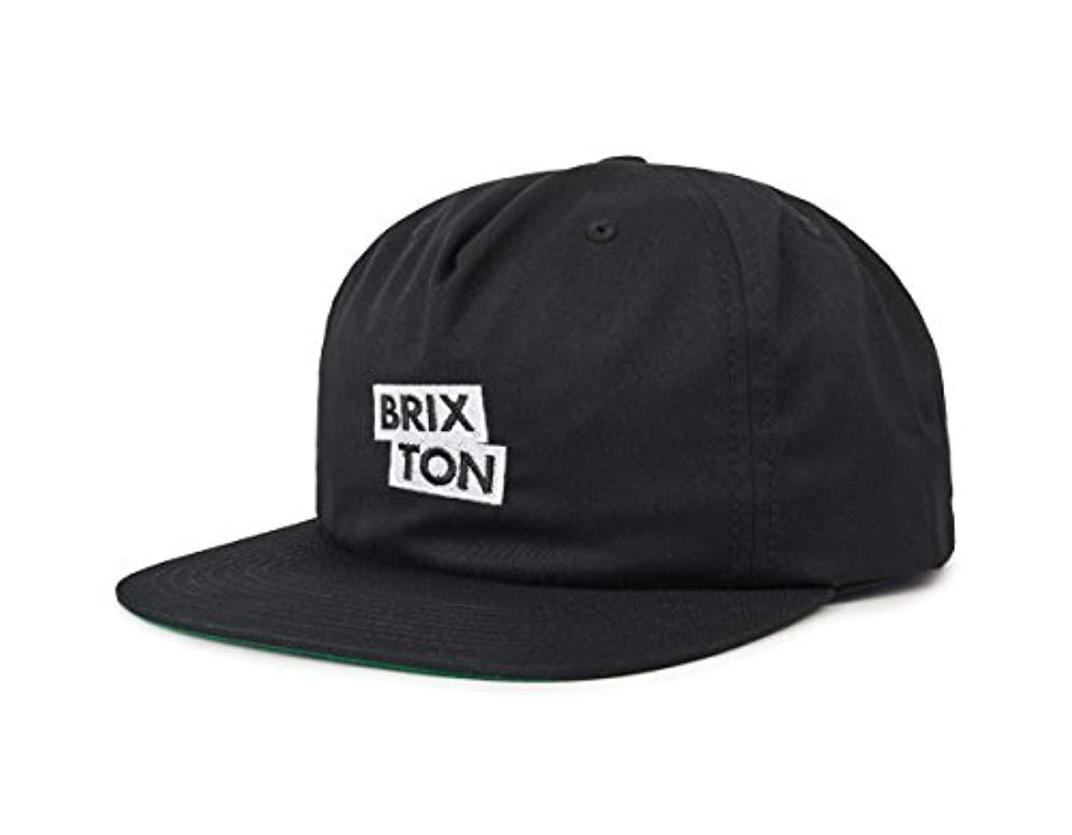 6984d3a2 Brixton Team Mp Snbk in Black for Men - Save 76% - Lyst