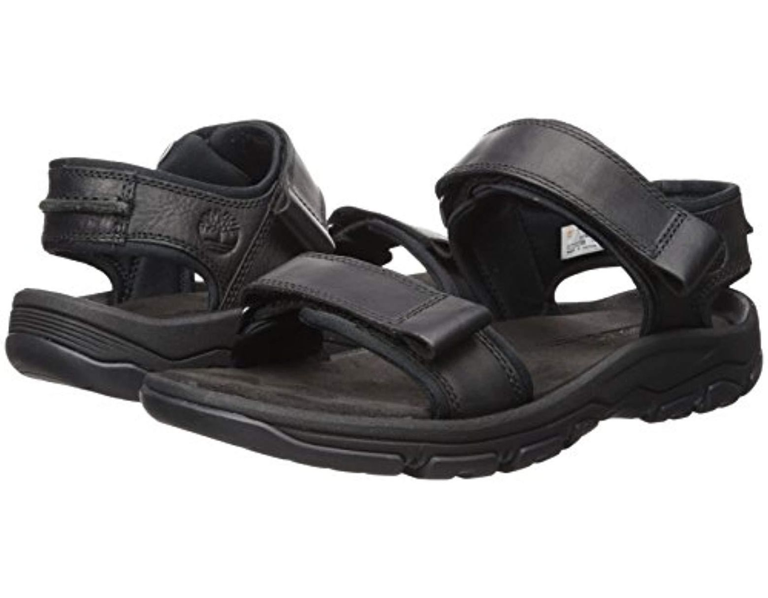 In Roslindale Sandal Lyst Black Timberland Men For Strap 2 3lcTK1FJ