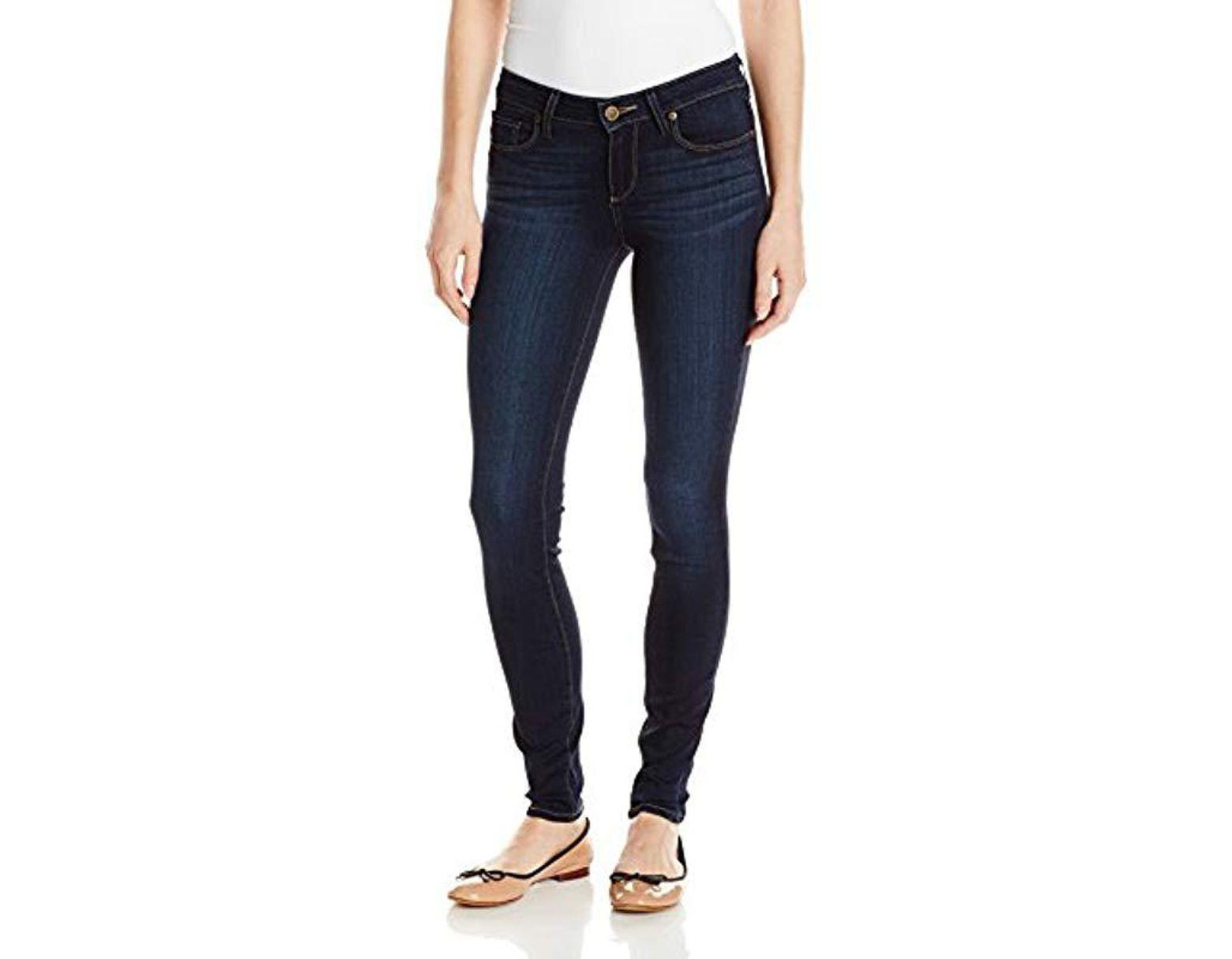 280cdc63ac59e PAIGE Verdugo Ultra Skinny Jeans-hartmann in Blue - Lyst