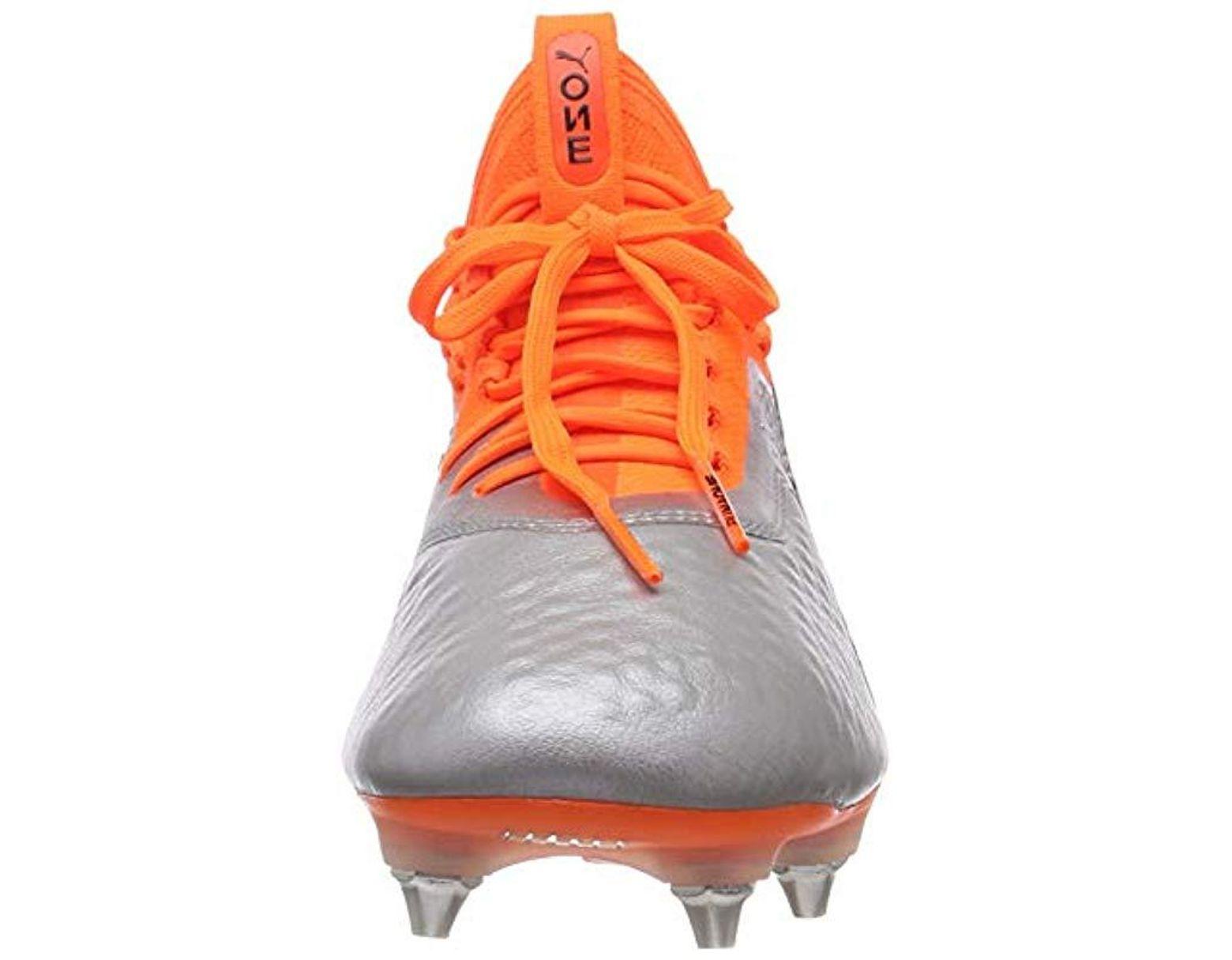 Puma Save Sg One For Footbal 1 Lth In Orange 40Lyst Shoes Mx Men qzpVMGSU
