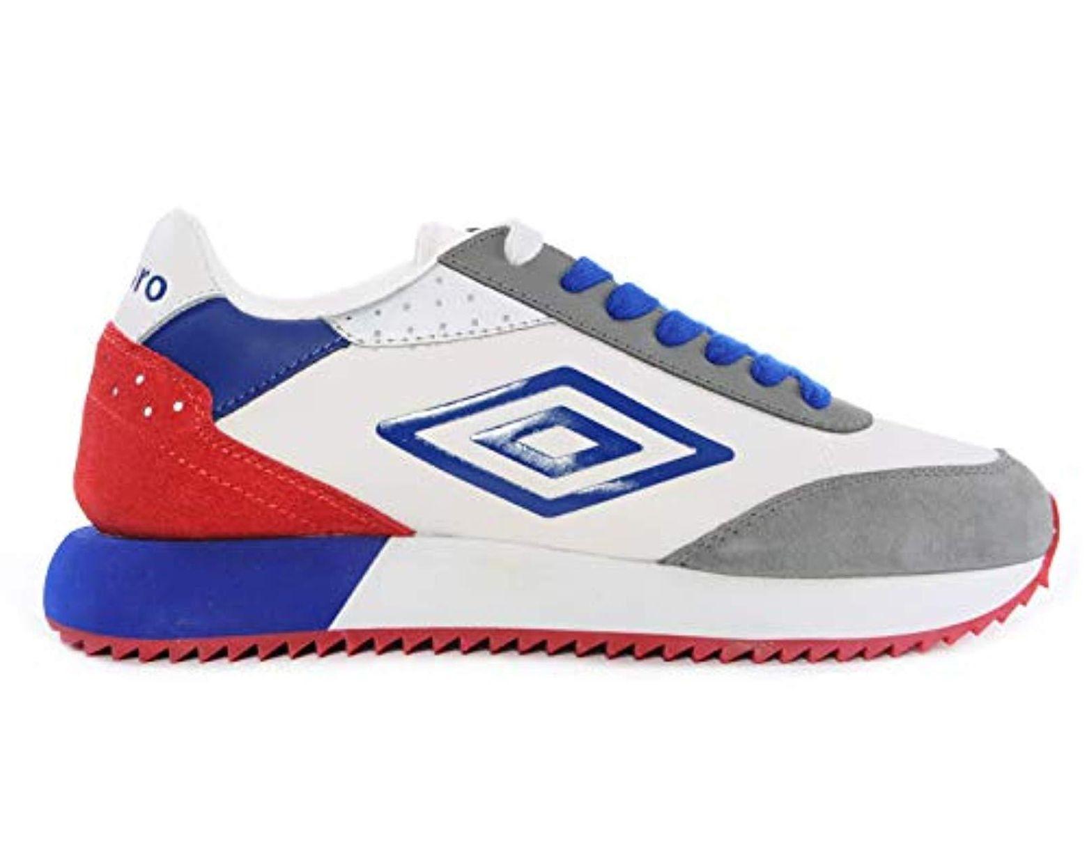 Umbro Sneakers Donna 36 Bianco/rosso/blu U191912m-w ...