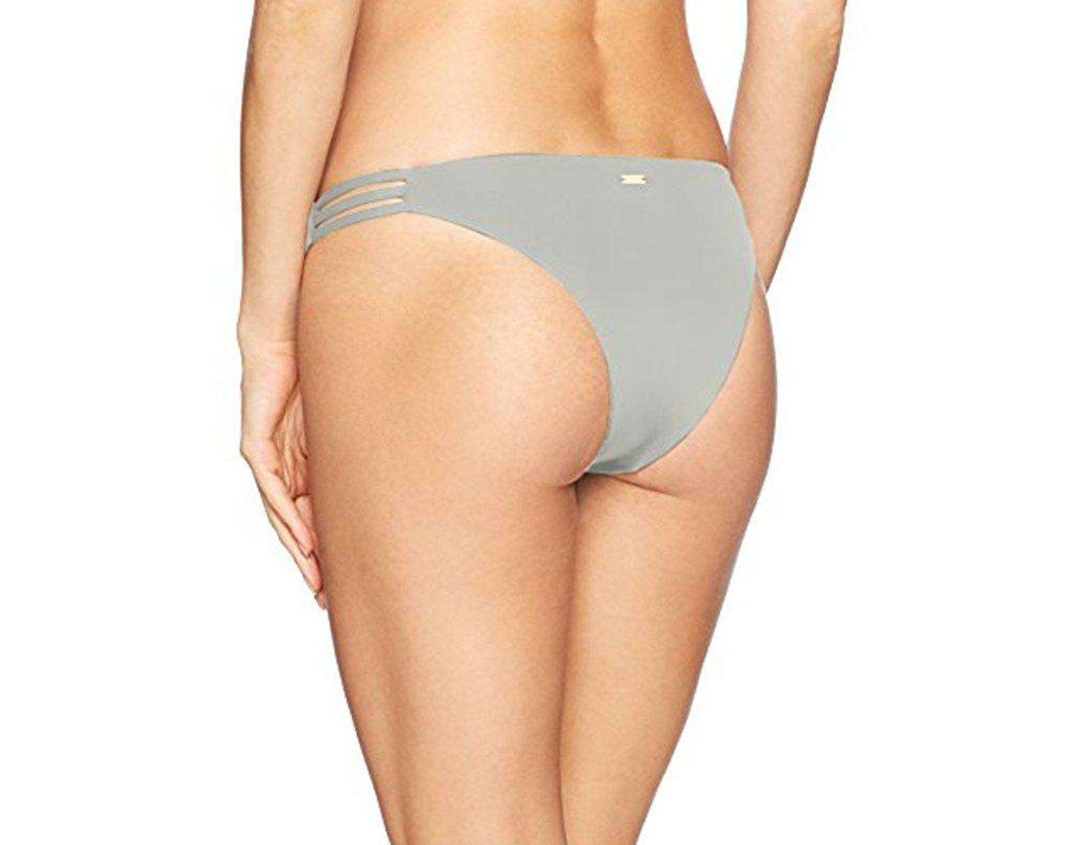 f552ab2939c Lyst - Roxy Softly Love Surfer Swimsuit Bikini Bottom - Save 37%