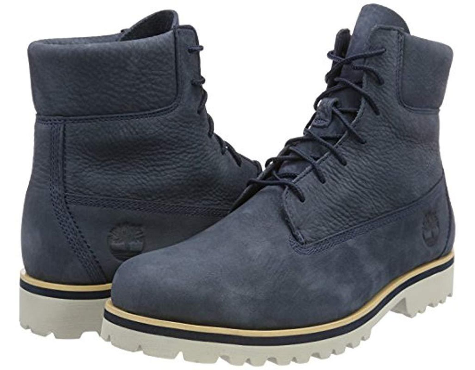 5908f506 Timberland Chilmark 6 Inch Classic Boots in Blue for Men - Save 31% - Lyst
