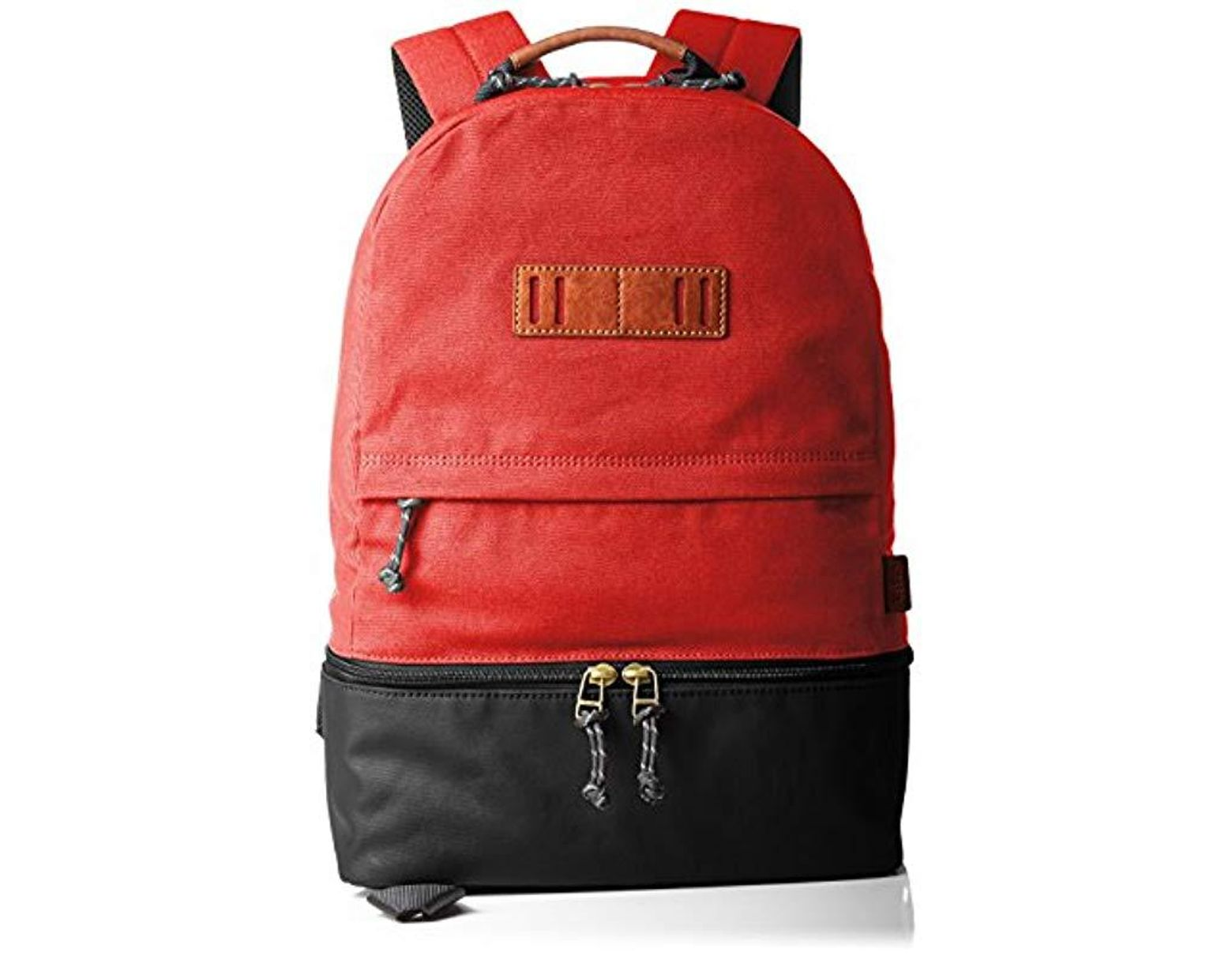 bac13c76fbe6a Fossil Herren Rucksack Summit in Red for Men - Lyst