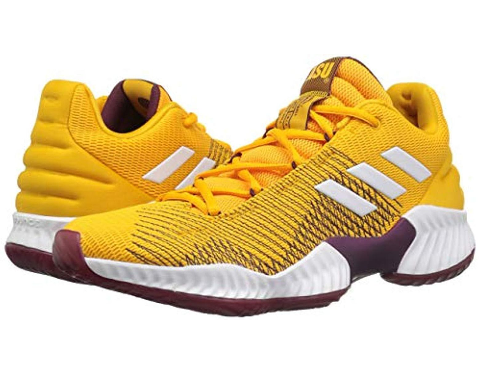 c4a2fd334 Lyst - adidas Originals Pro Bounce 2018 Low Basketball Shoe in Yellow for  Men