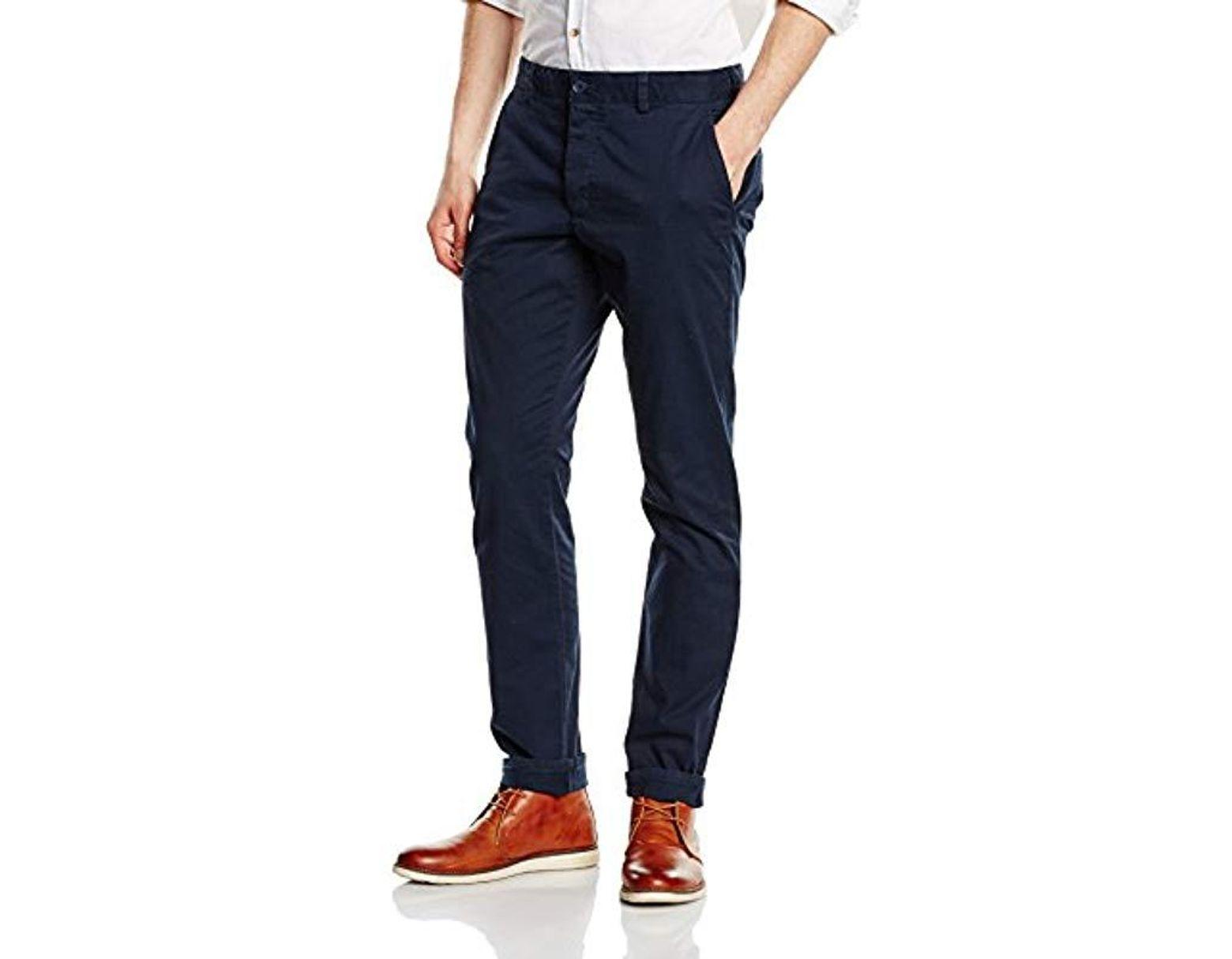 Homme Connection Bleu Pantalon Coloris Lyst Pour French En nOw80Pk