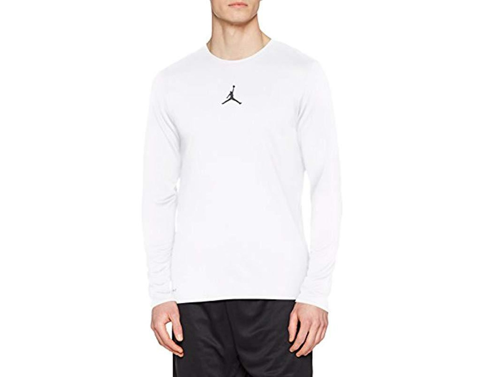 ef0b971863dbc Nike Ult Flight Performance Top Long Sleeve in White for Men - Lyst