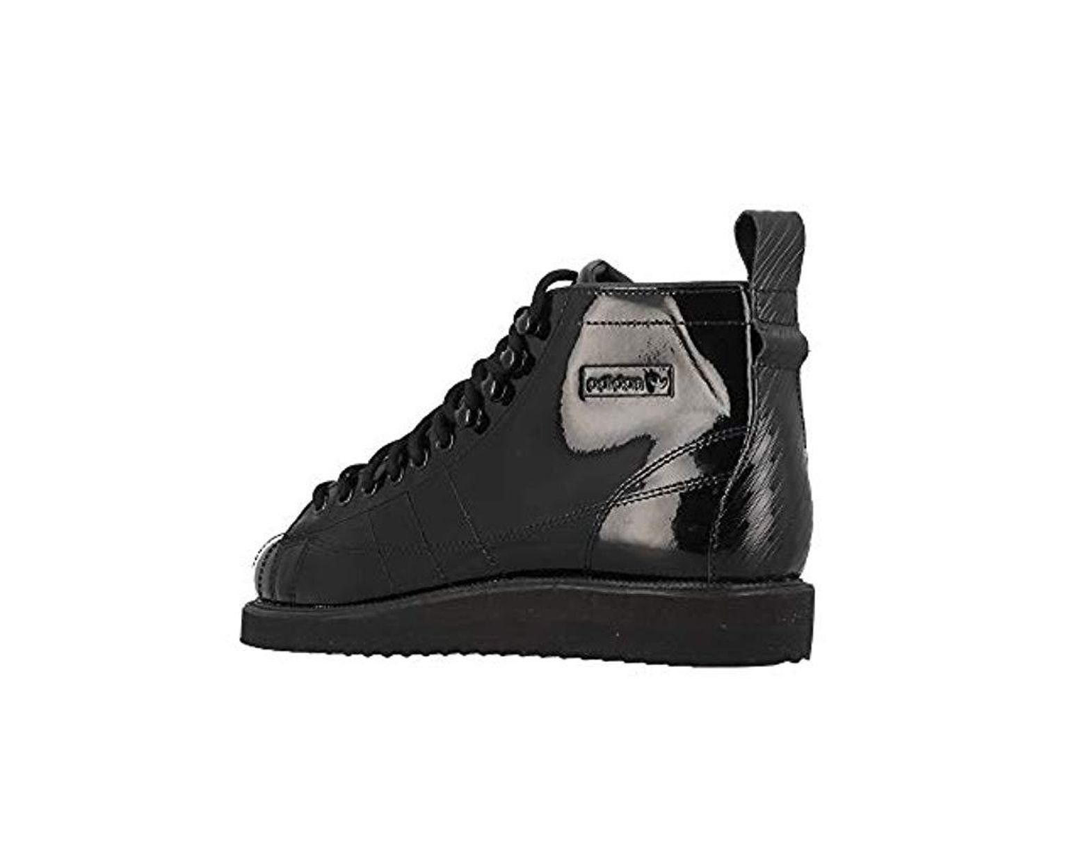 nouveau style 080ca d37b3 adidas Chaussures Femme Uperstar in Black - Lyst