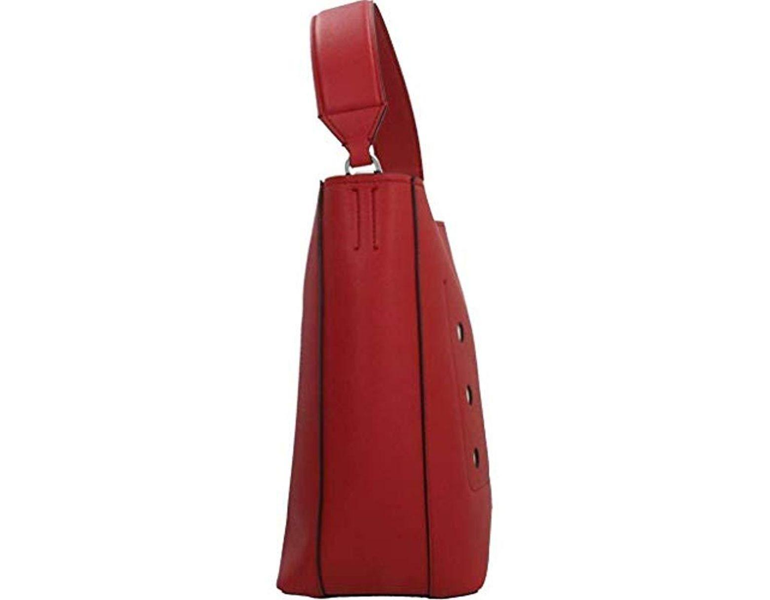 94e763b68523 Calvin Klein Borsa Donna Sacca | | K60k605073635-lipstick Red in Red - Lyst