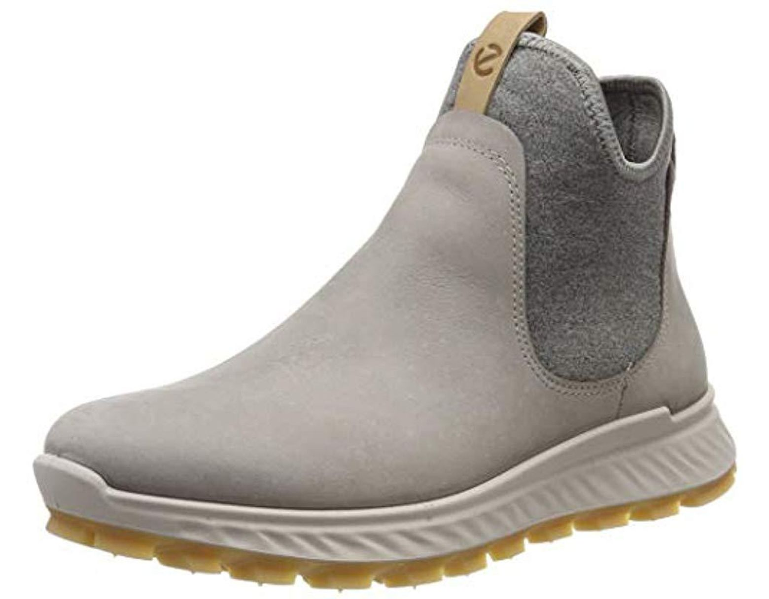 0c3d304374e92 Ecco Exostrike L Chelsea Boots in Gray - Lyst