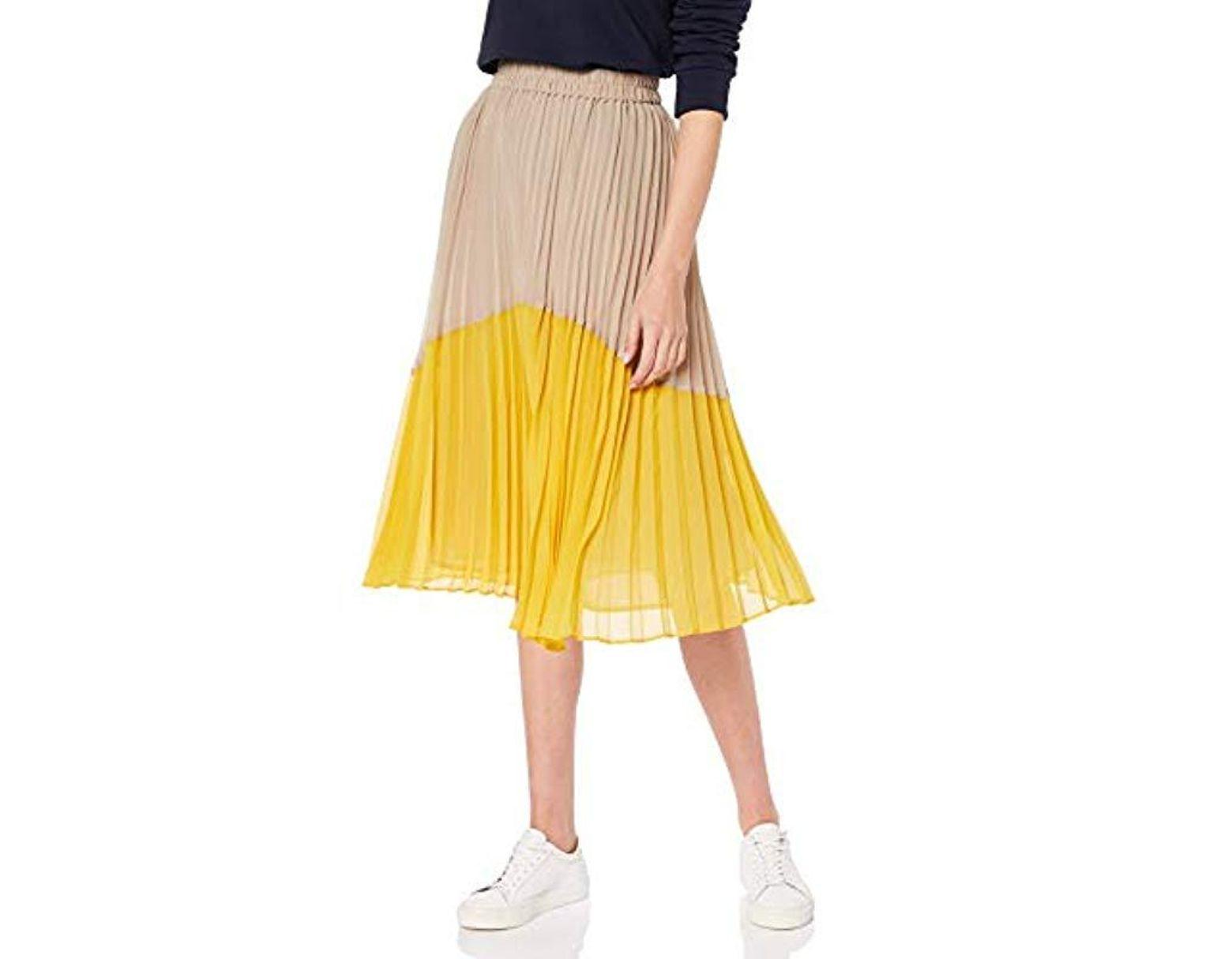 8efb2ea9bb Pepe Jeans Beli Skirt in Yellow - Lyst