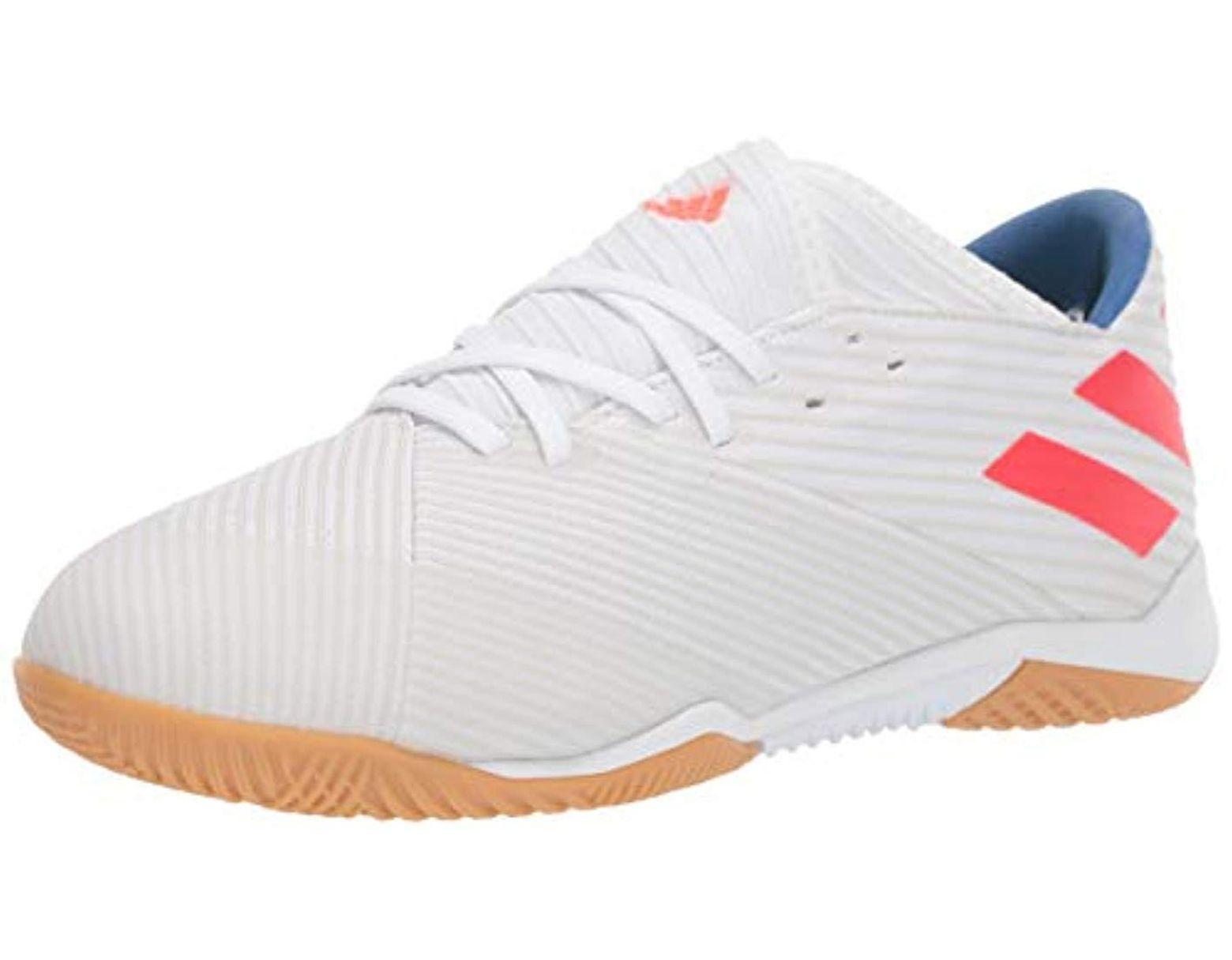 ff5a686f3eaac Men's White Nemeziz Messi 19.3 Indoor Shoes