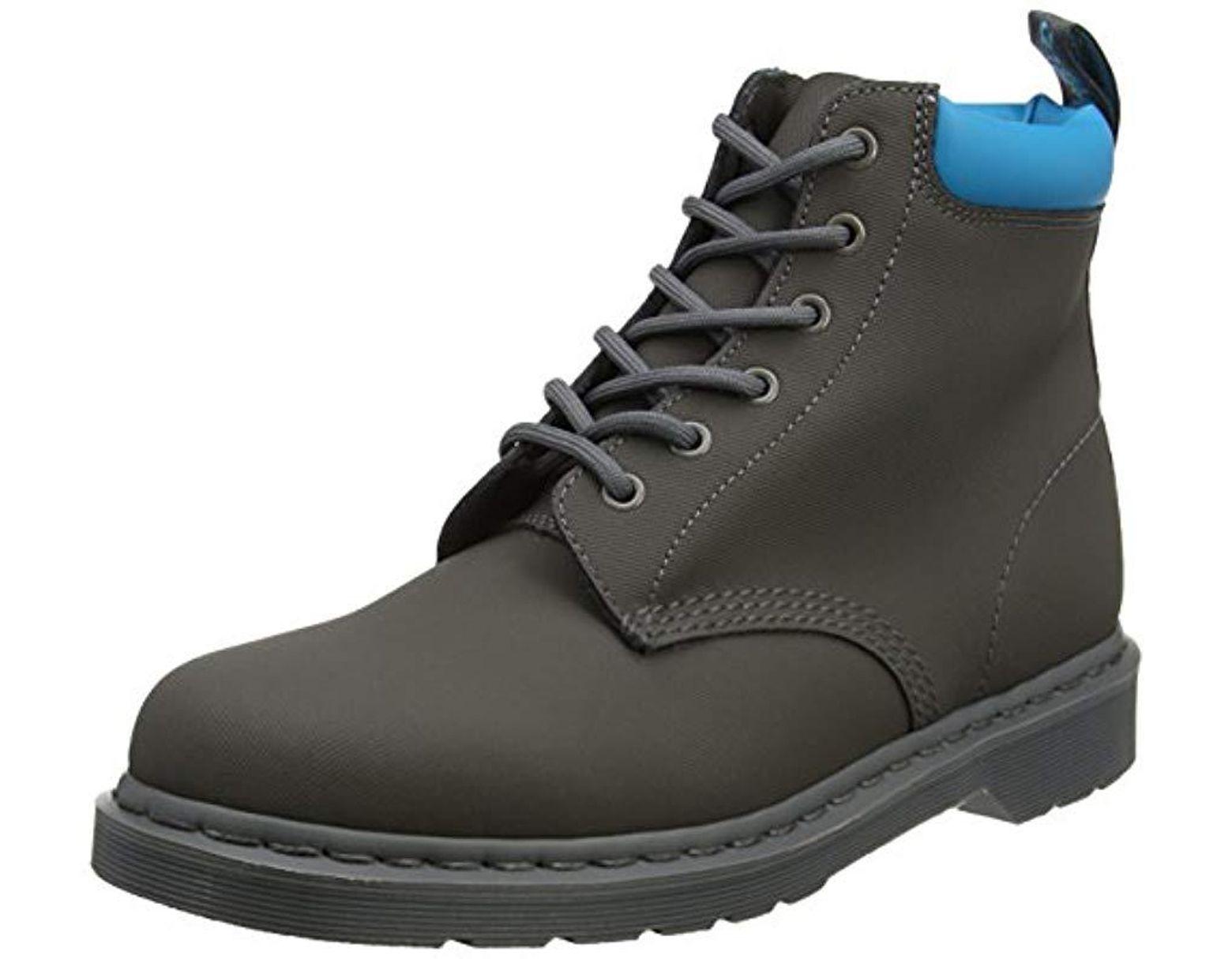0ef1a6dfbb2 Dr. Martens 939 Gunmetal+soft Blue Ajax+pu Boots in Blue for Men - Lyst