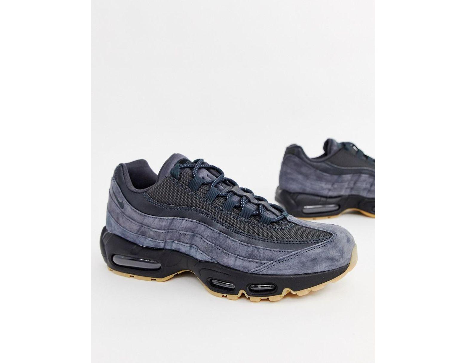 eadb11942c2c1 Nike Air Max 95 Ultra Sneakers In Grey Aj2018-002 in Gray for Men - Lyst