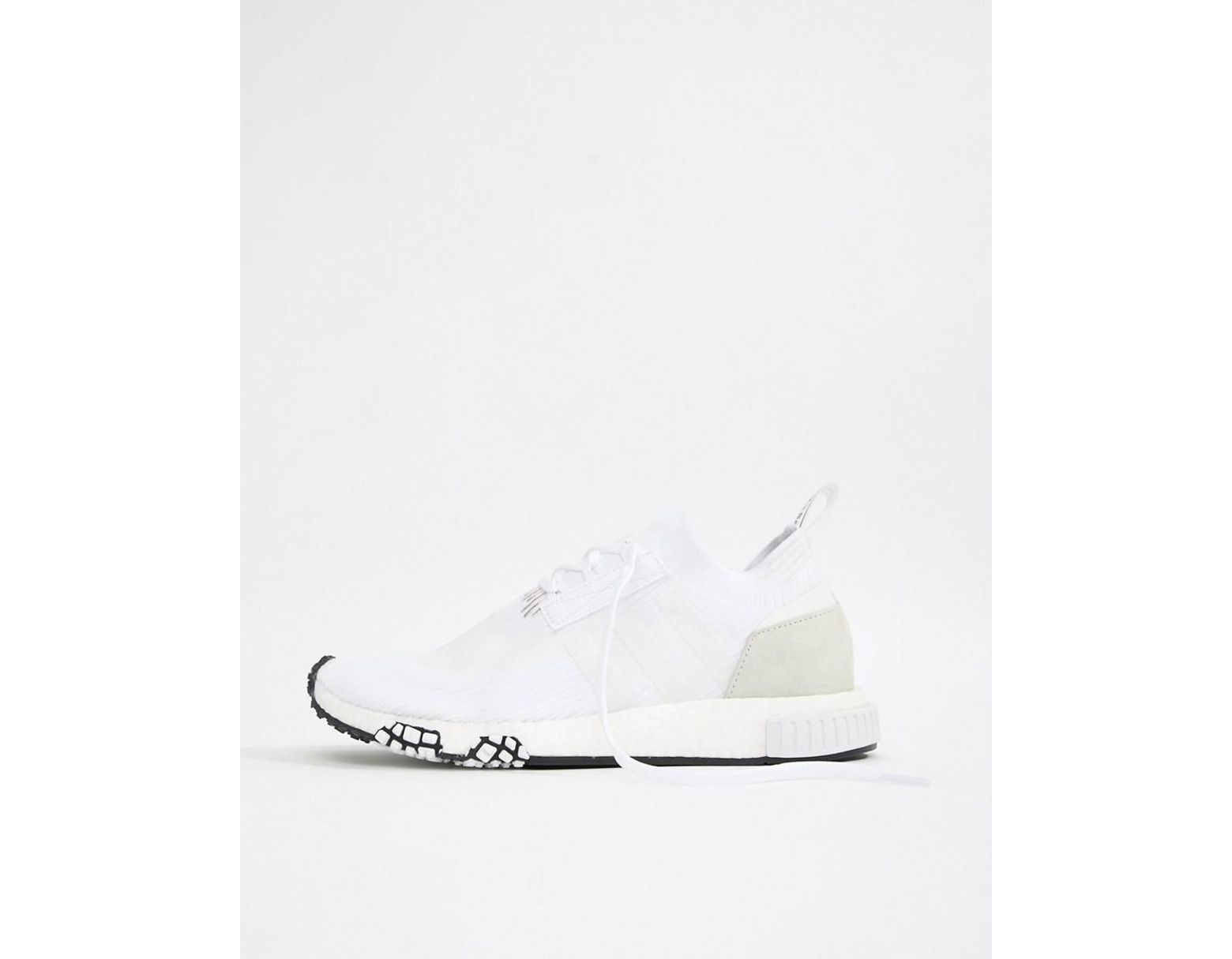 df620c86b7a01 Lyst - adidas Originals Nmd Racer Pk Sneakers In White B37639 in White for  Men