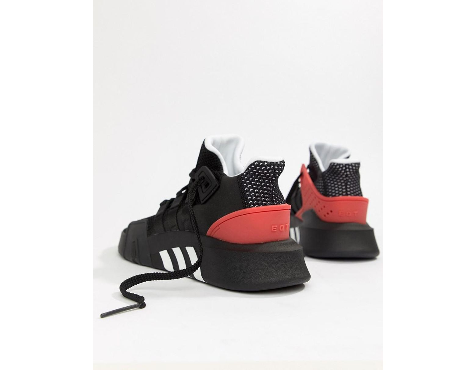 71bfb9f8a270 adidas Originals Eqt Bask Adv Sneakers In Black Aq1013 in Black for Men -  Lyst