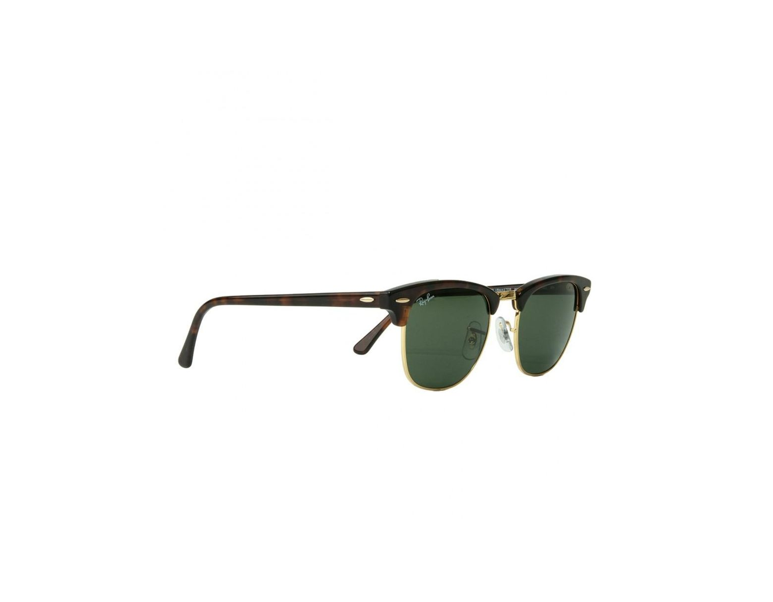 521032e21b Ray-Ban Rb3016 Polarised Clubmaster Sunglasses in Green for Men ...