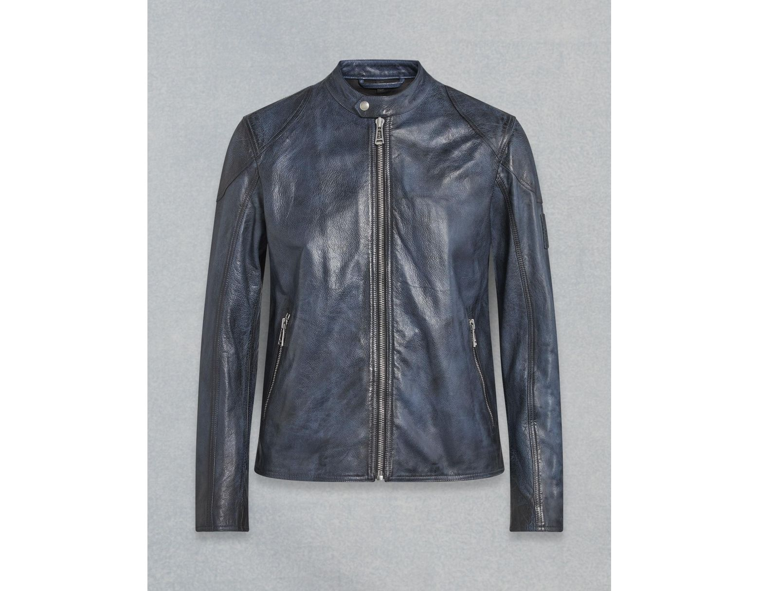 51444354f0e Belstaff Bandit Café Racer Jacket in Blue for Men - Lyst