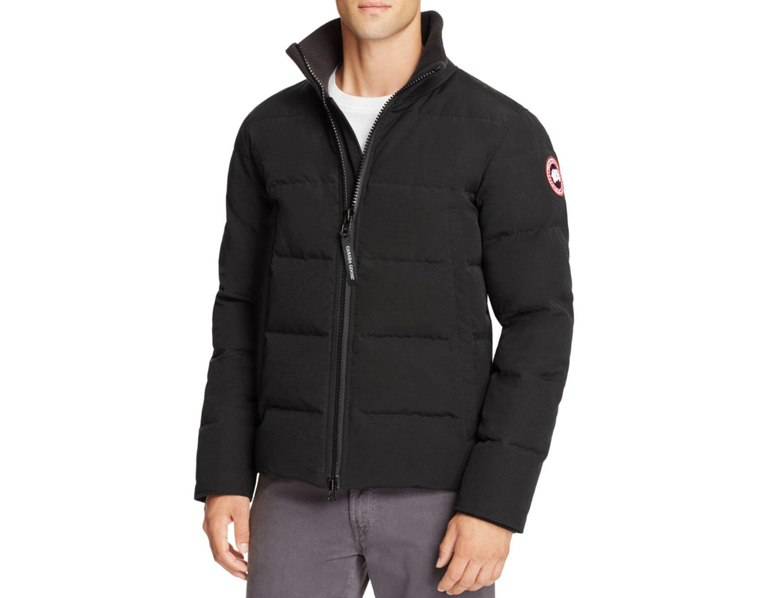 12a6e93dee9 Canada Goose Woolford Down Jacket in Black for Men - Lyst