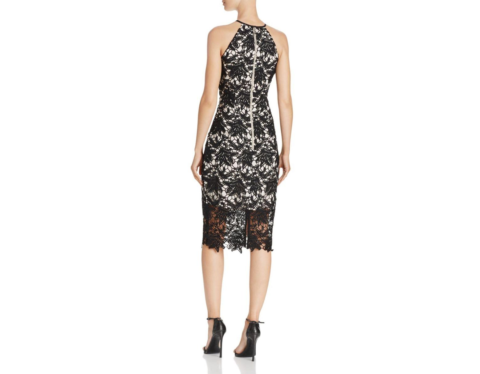 6edd495650d Lyst - Keepsake True Love Lace Dress in Black - Save 84%