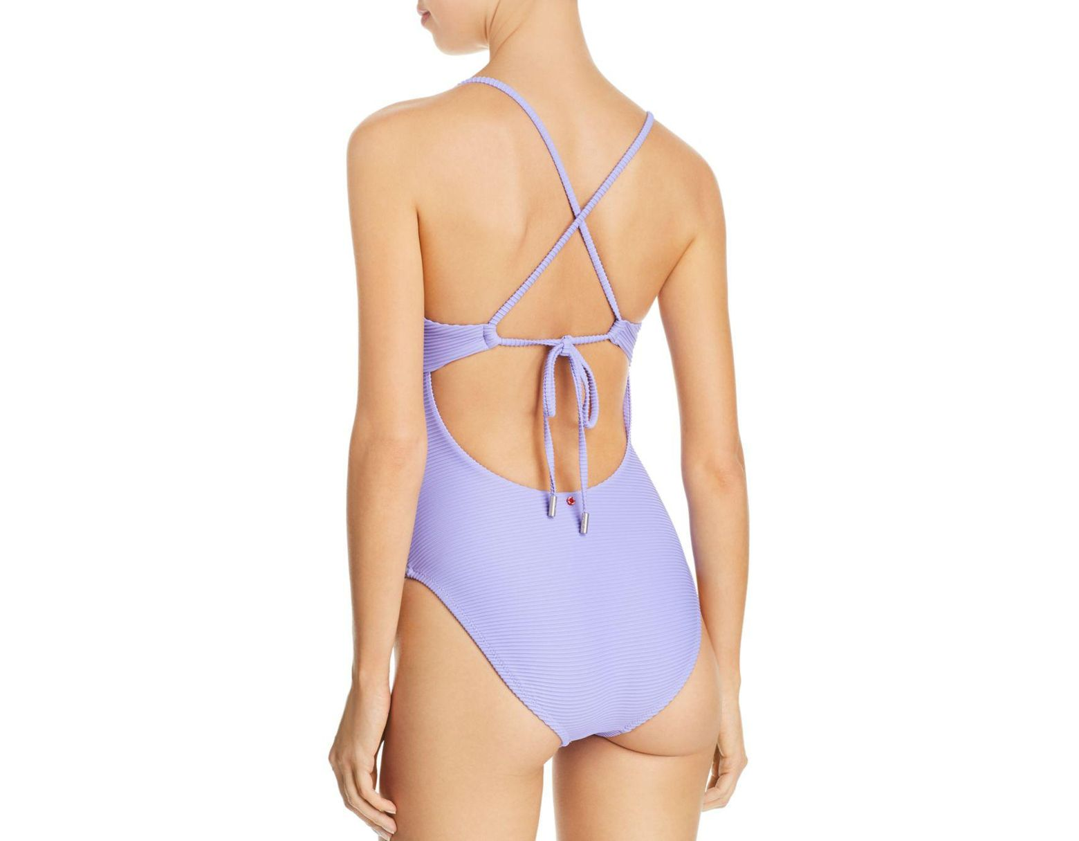 361e071ef11bf Red Carter Riviera Sunset One-piece Swimsuit in Purple - Lyst