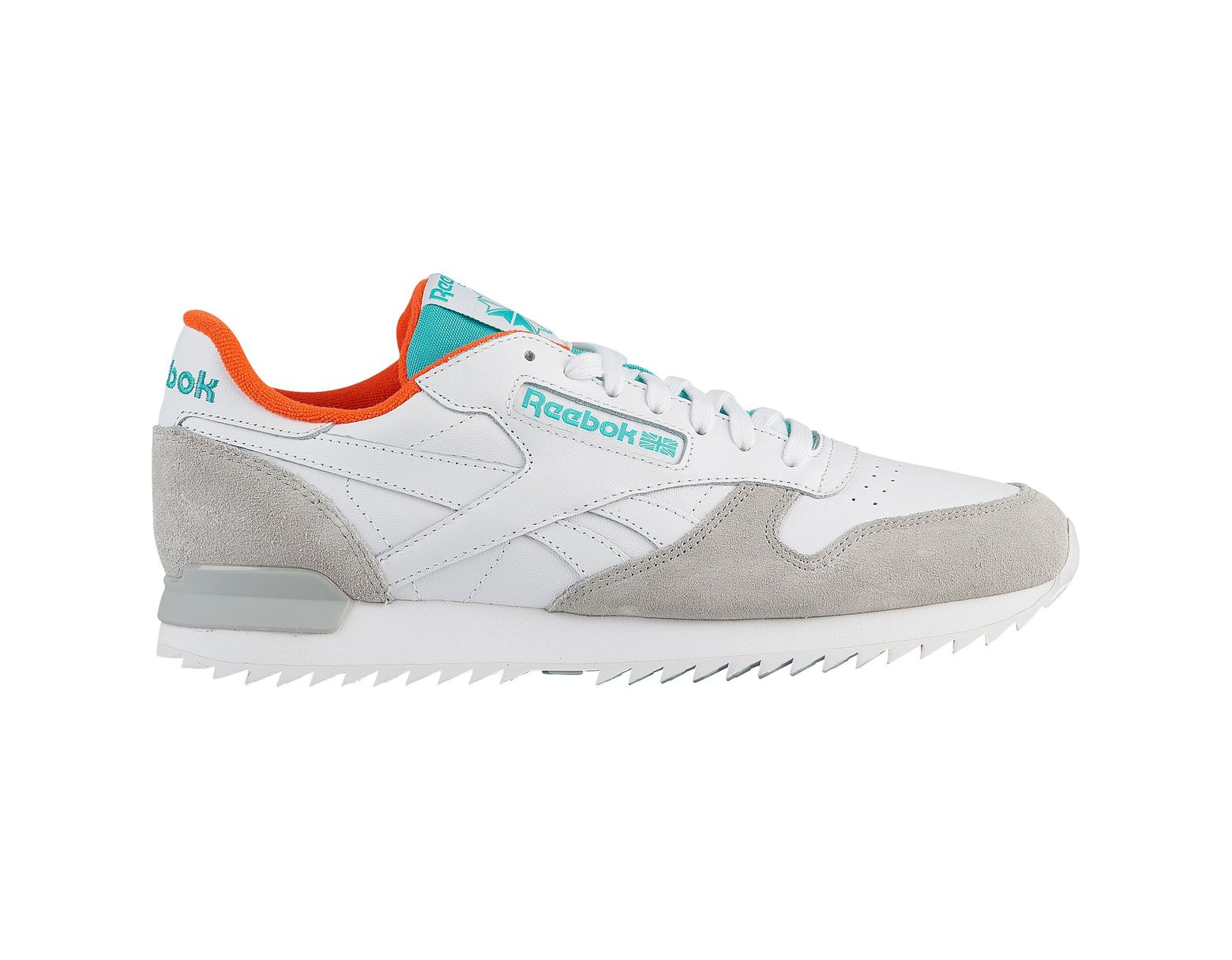 Reebok Classic Leather Ripple Clip in Gray for Men Lyst