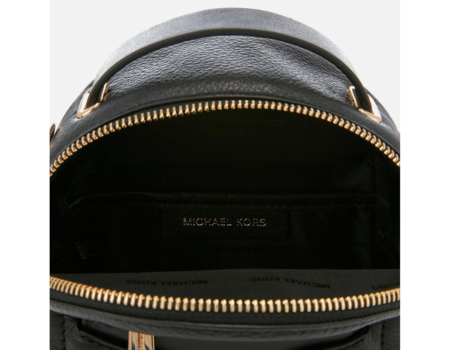 28f2f7a511a23d MICHAEL Michael Kors Jessa Extra Small Convertible Backpack in Black - Save  31% - Lyst
