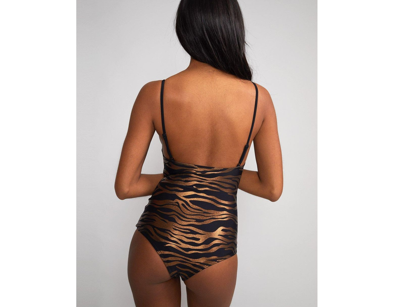 445124d8dc Cynthia Rowley Zebra Sandi Swimsuit - Extended Sizes Available - Lyst