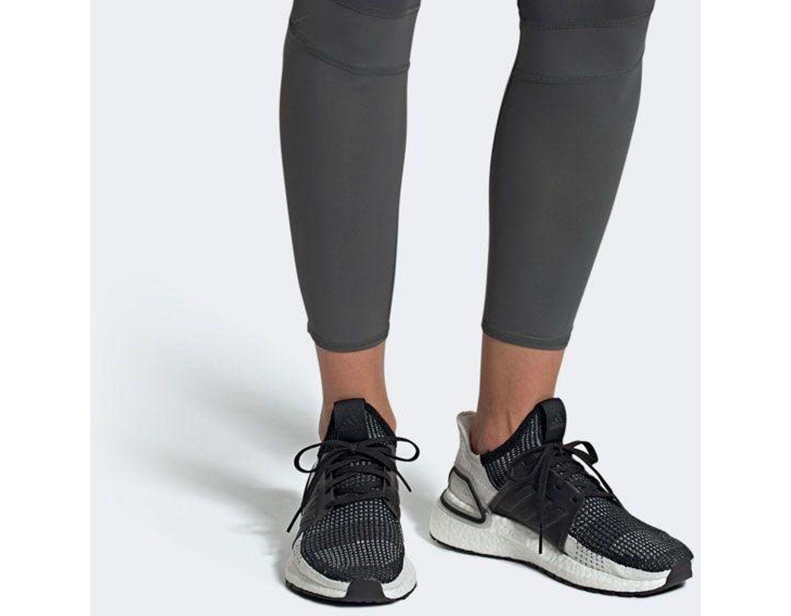 ccf27fcff42fa Lyst - adidas Ultraboost 19 Running Shoes in Black