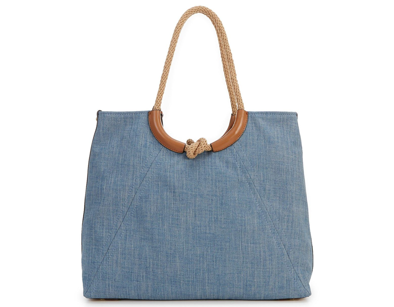 6943a711d254 MICHAEL Michael Kors Isla Ring Tote in Blue - Lyst