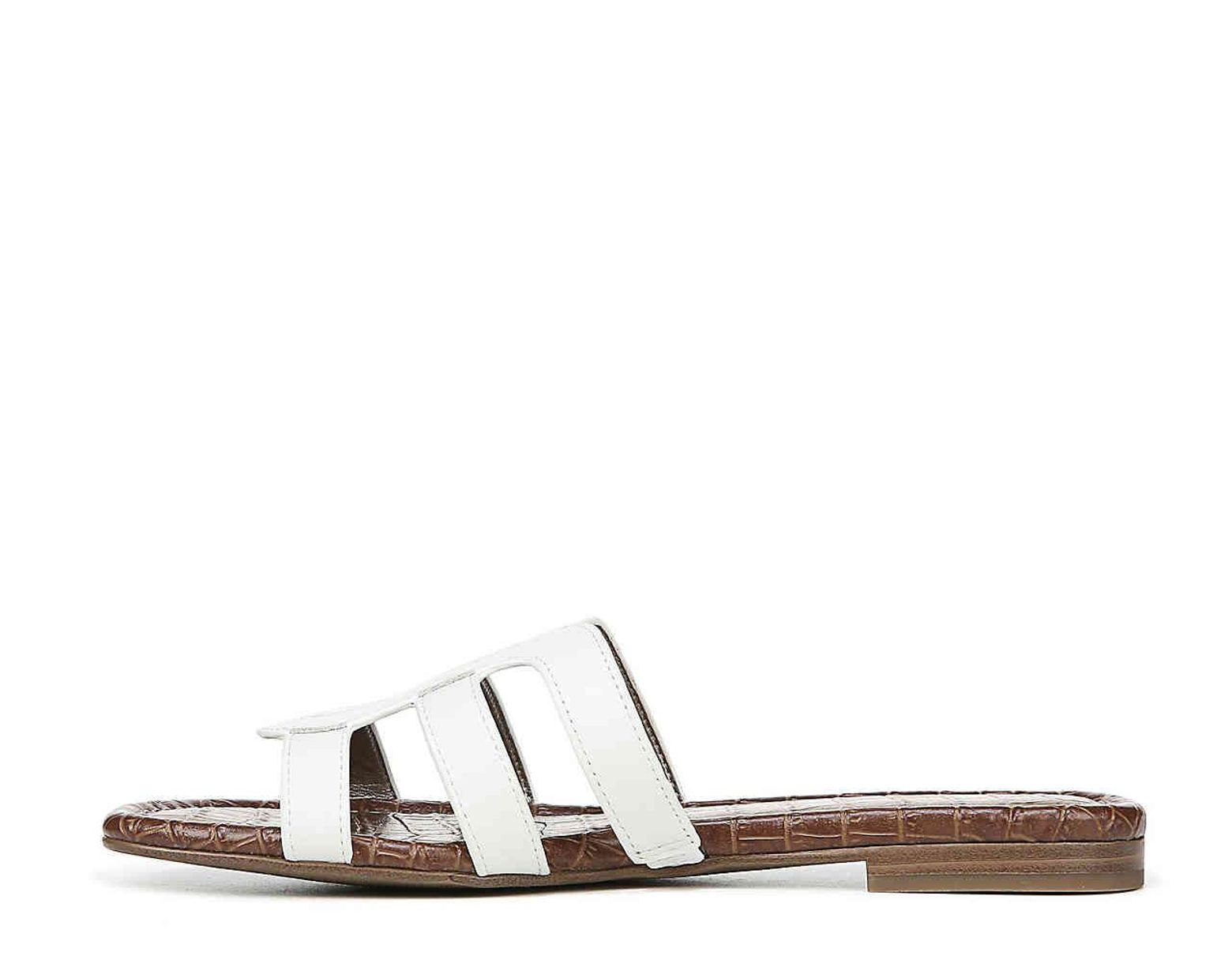 98dbb3395b Sam Edelman Bay Sandal in White - Save 46% - Lyst