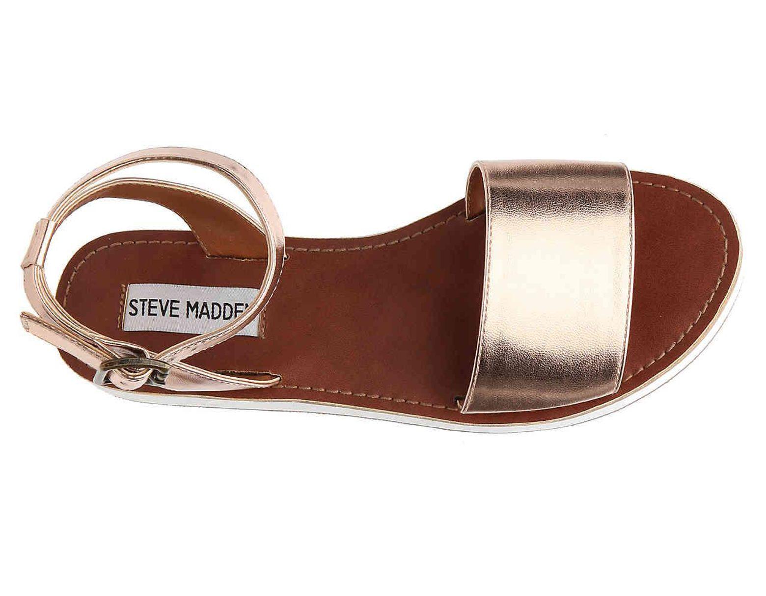 6807d1f3c37 Steve Madden Miley Wedge Sandal - Lyst