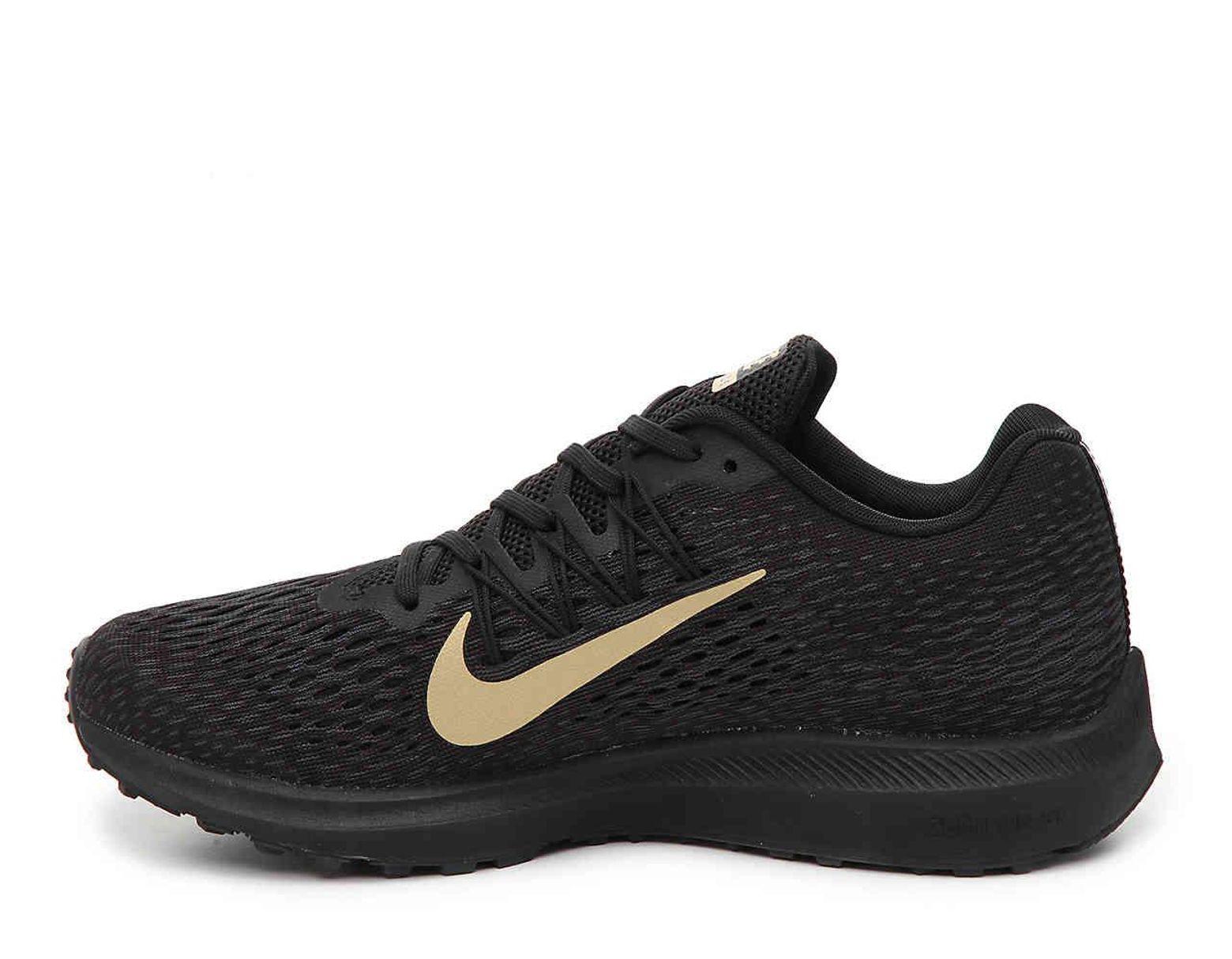 afaa562f44110 Nike Zoom Winflo 5 Running Shoe in Black - Lyst
