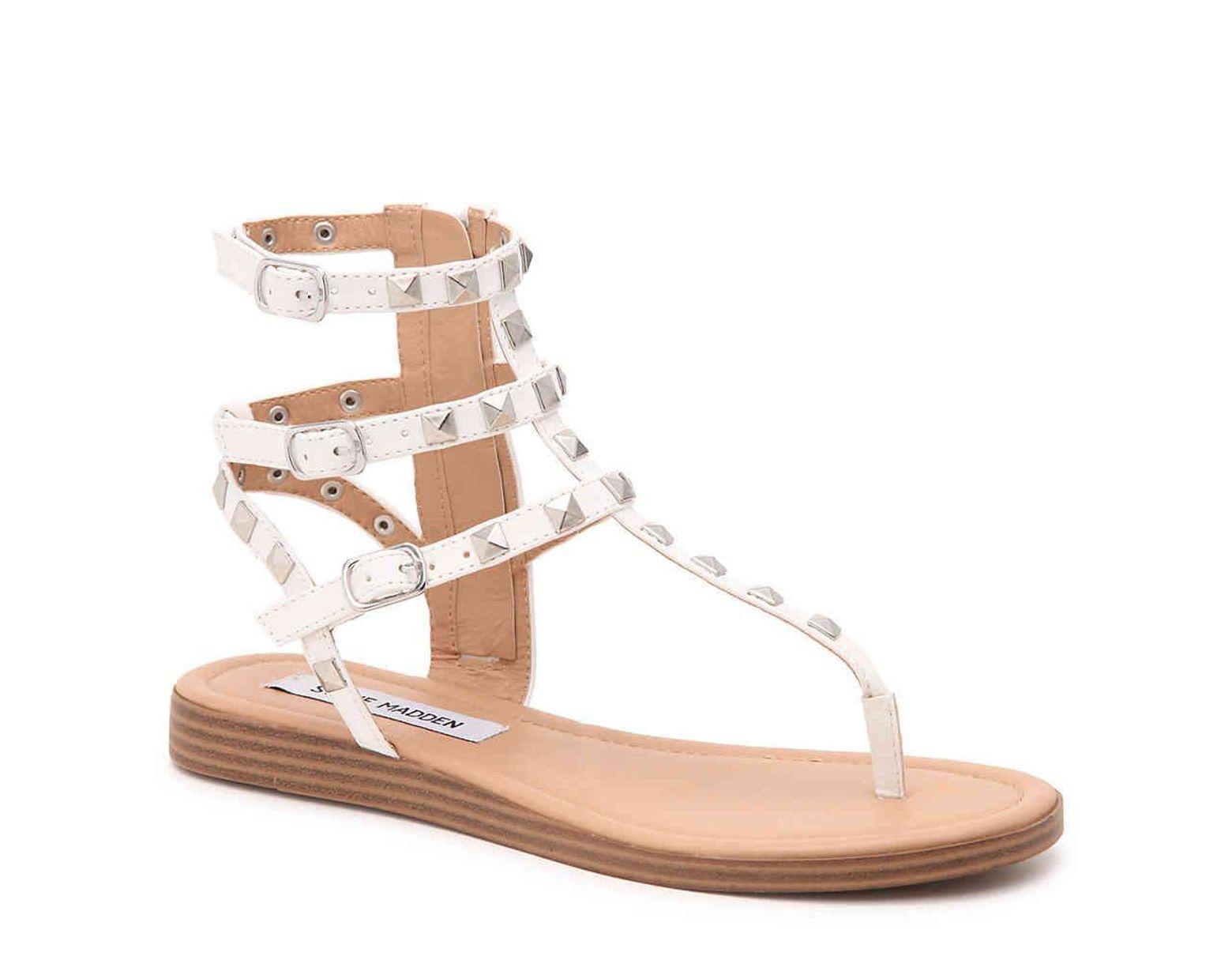 22d8dfd4f44 Women's White Kady Gladiator Sandal