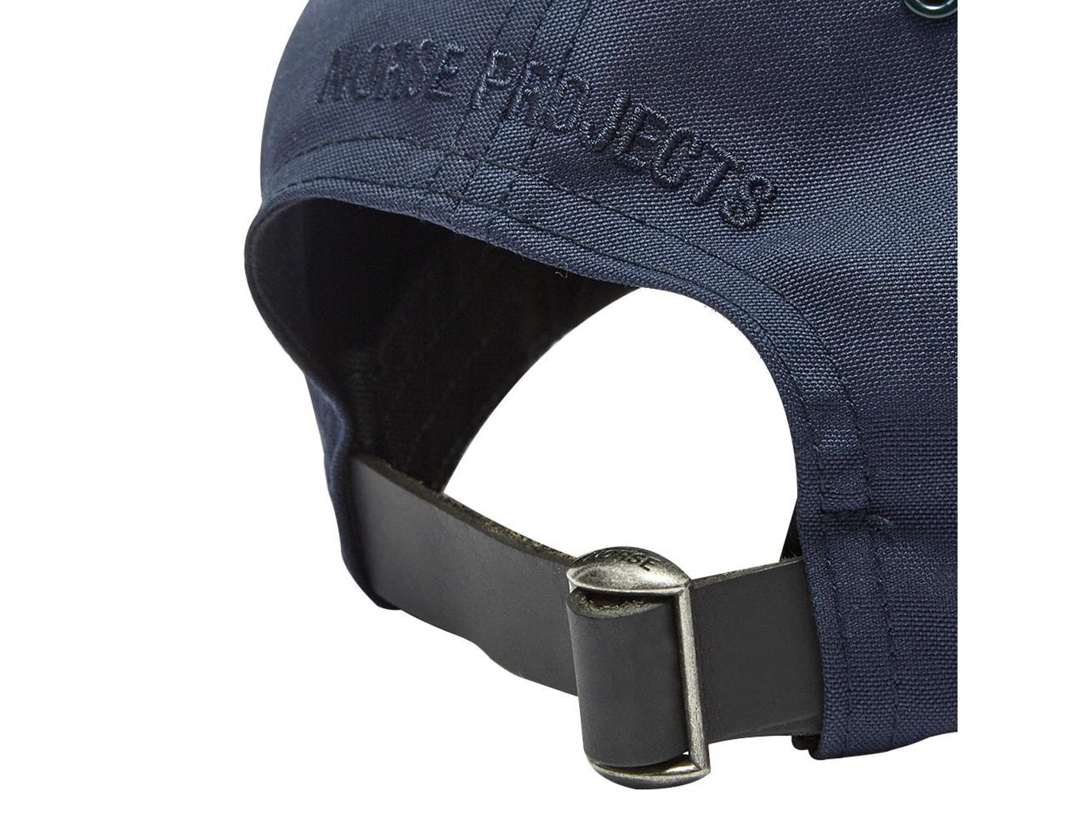 45245eadf61 Norse Projects Loro Piana Sports Cap in Blue for Men - Lyst